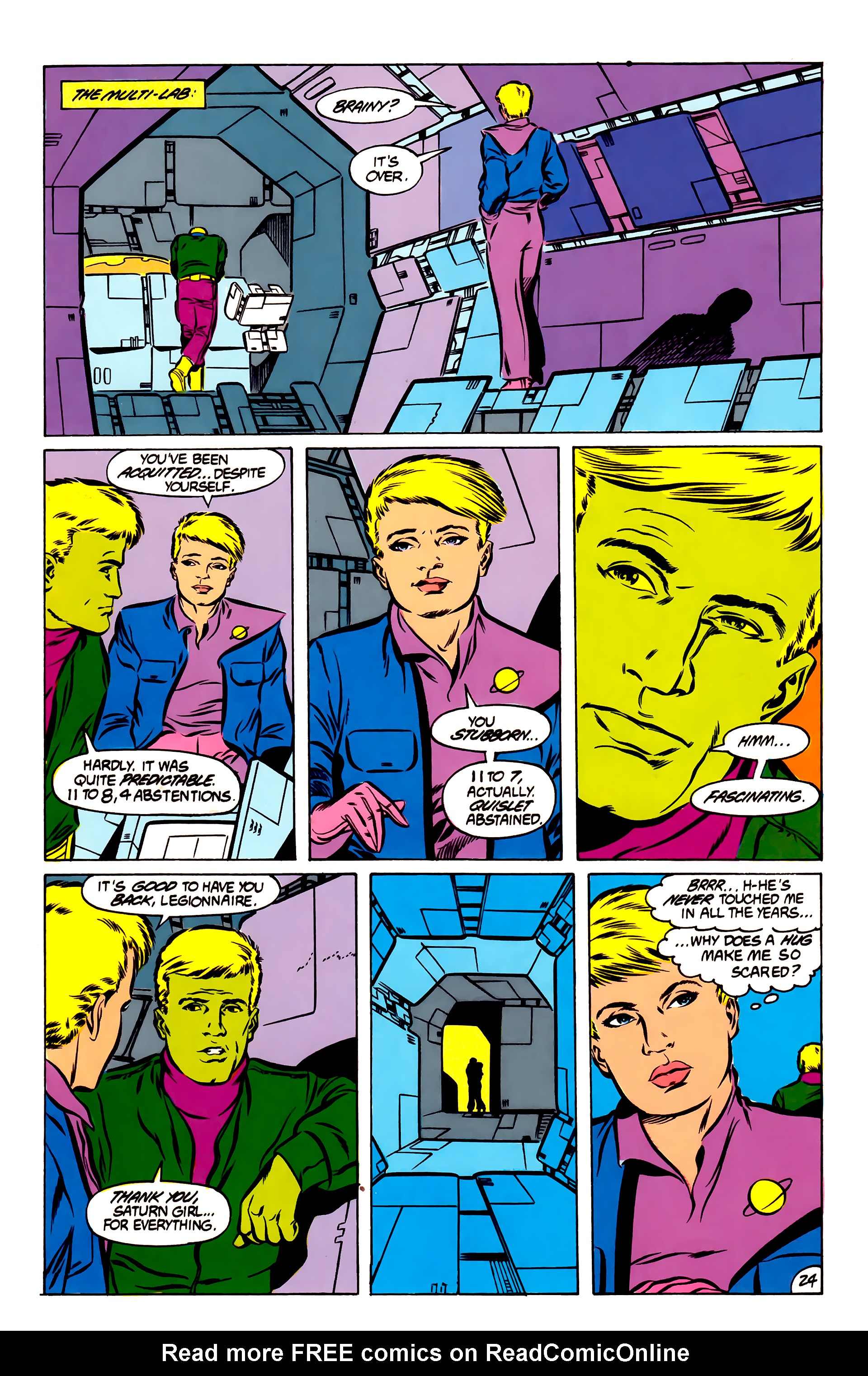 Legion of Super-Heroes (1984) 51 Page 24