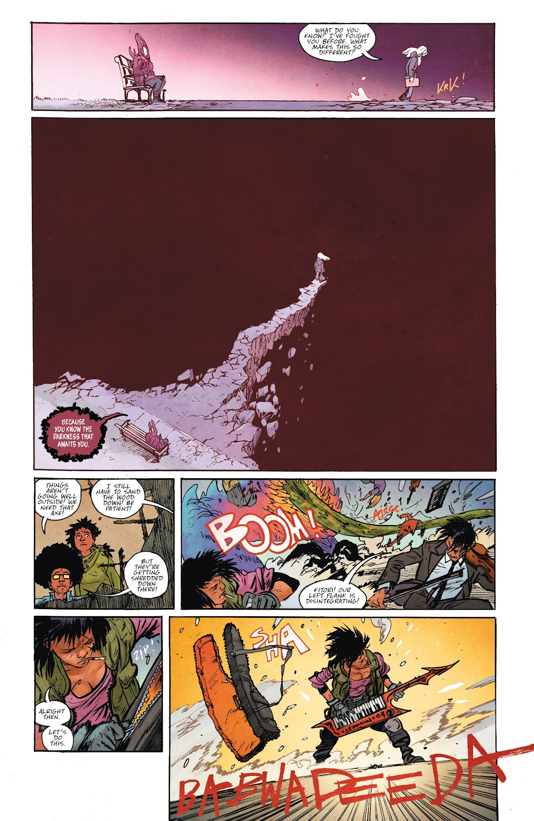 Read online Murder Falcon comic -  Issue #7 - 13