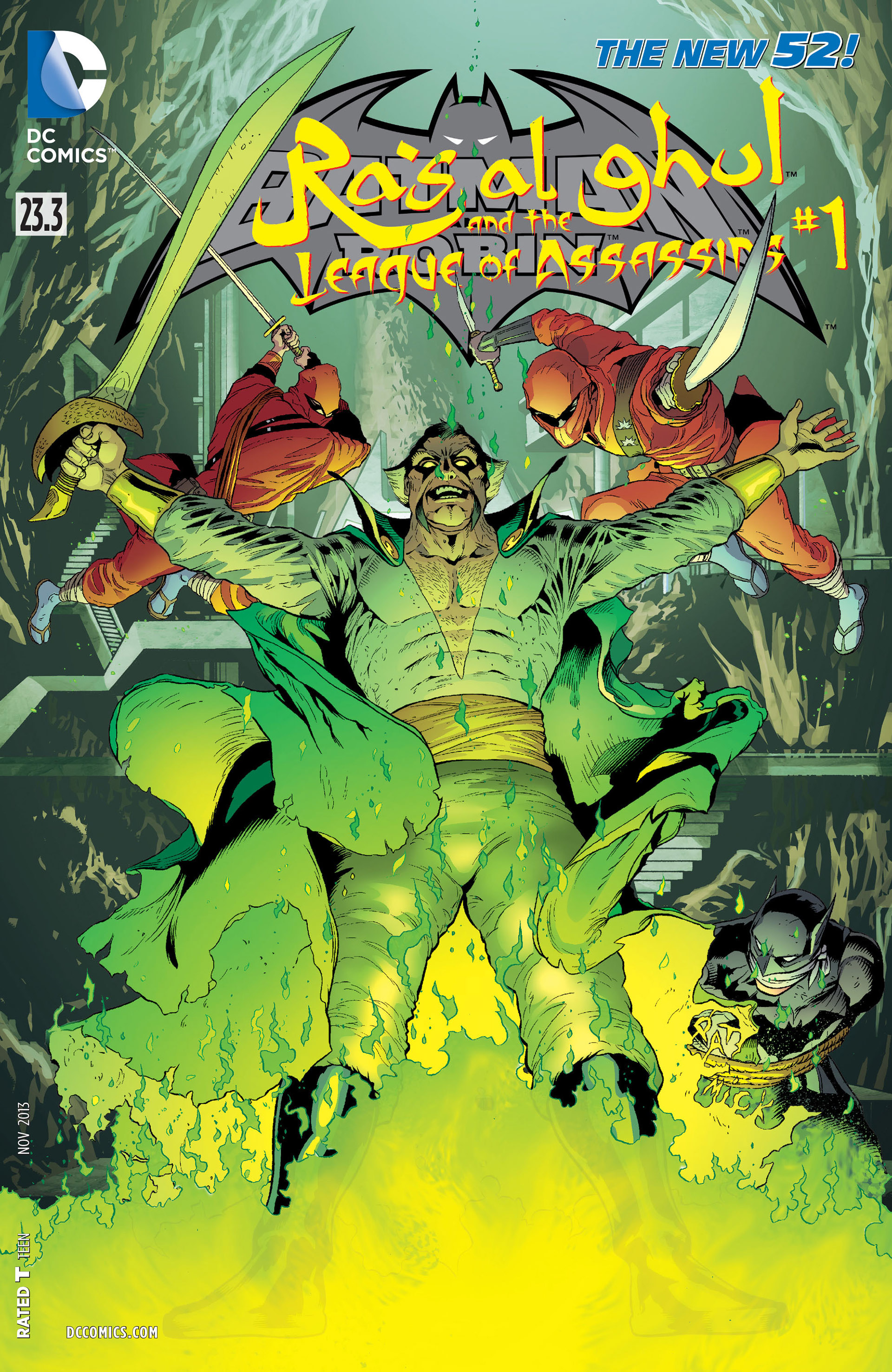 Read online Batman and Robin (2011) comic -  Issue #23.3 - 1