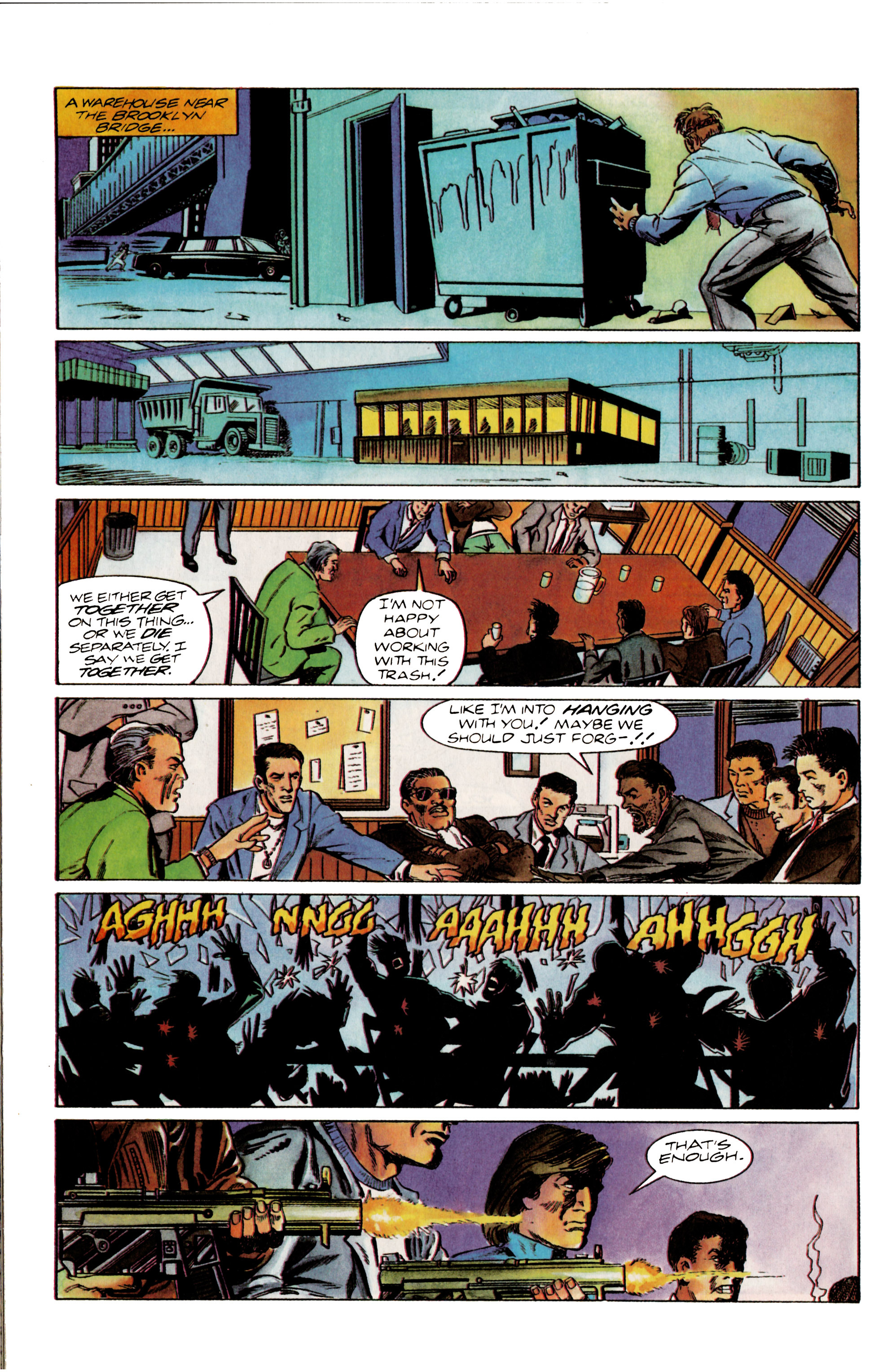Read online Eternal Warrior (1992) comic -  Issue #13 - 16
