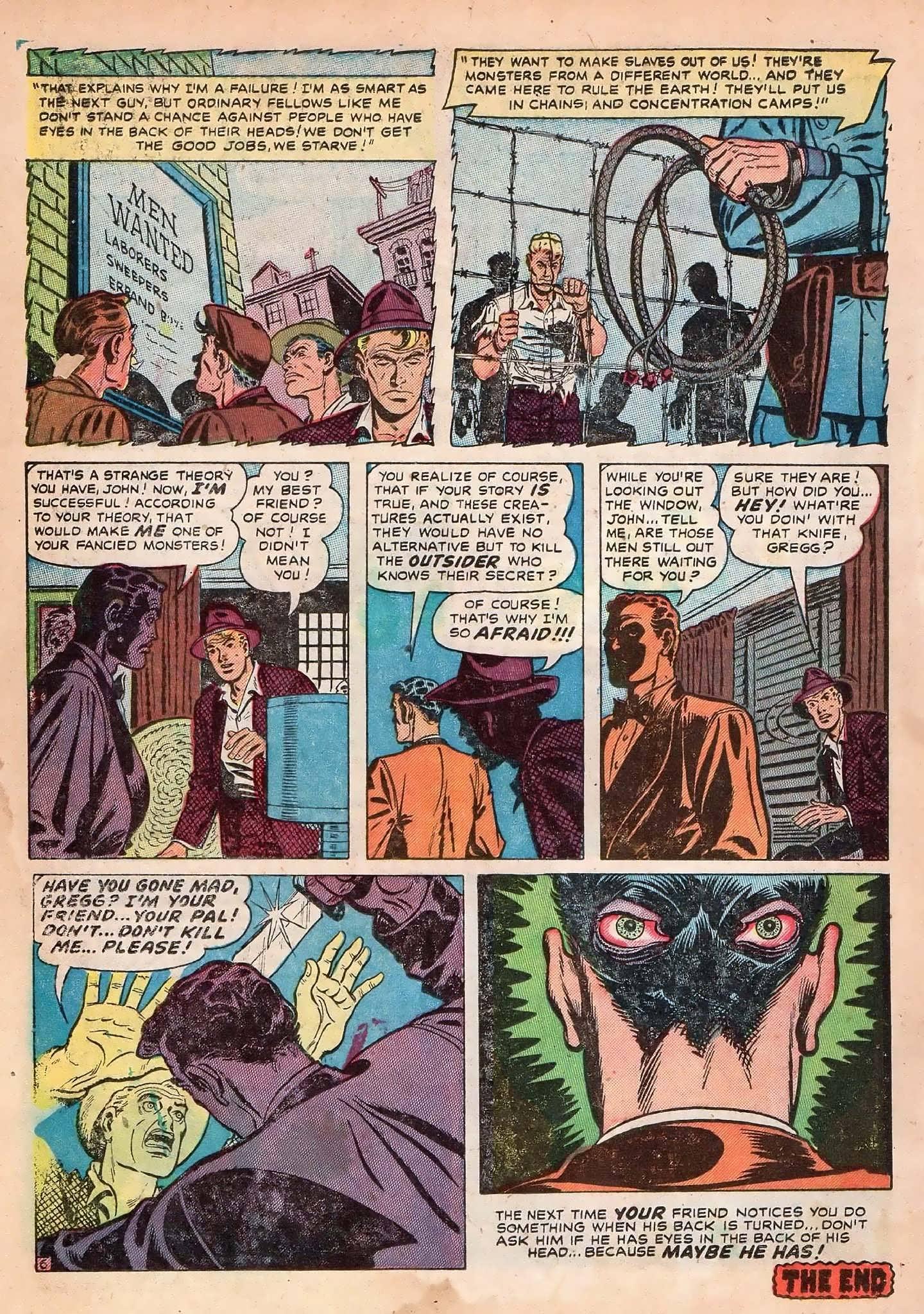 Read online Adventures into Weird Worlds comic -  Issue #2 - 16