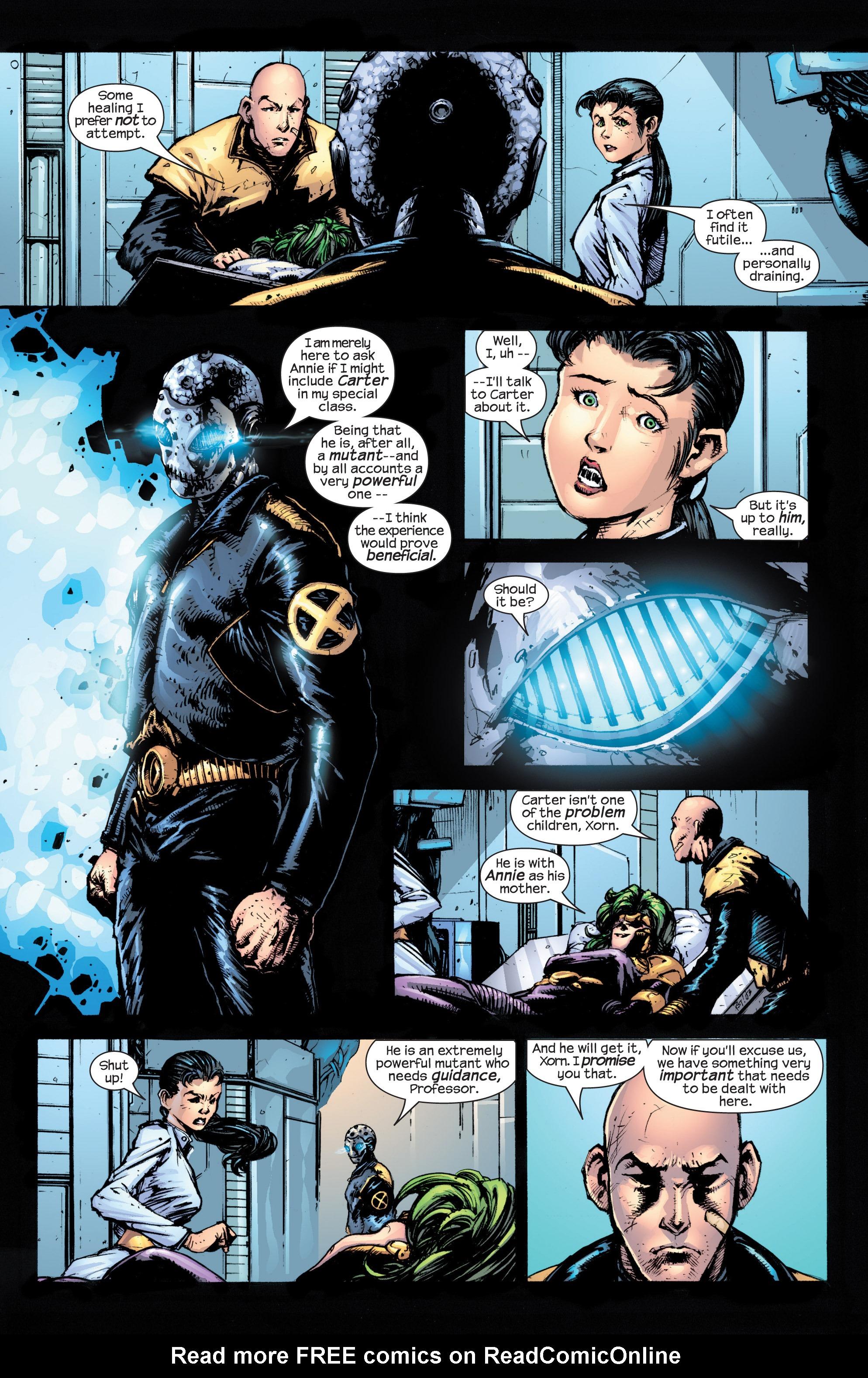 Read online Uncanny X-Men (1963) comic -  Issue #430 - 7