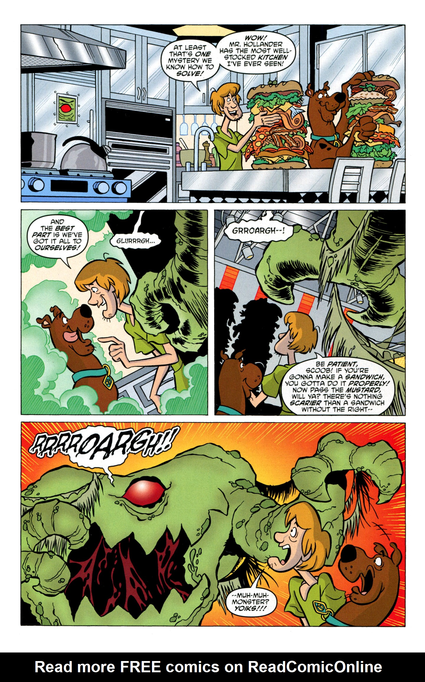 Read online Scooby-Doo: Where Are You? comic -  Issue #17 - 32