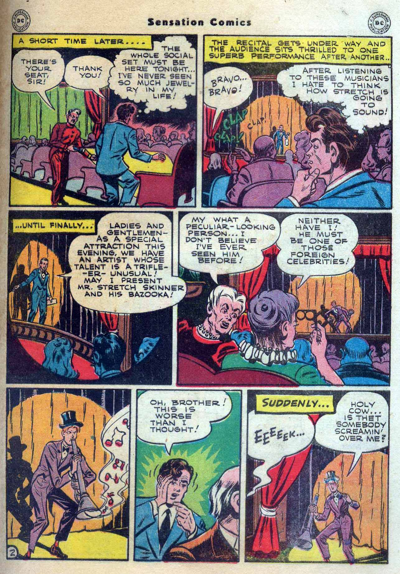 Read online Sensation (Mystery) Comics comic -  Issue #56 - 43
