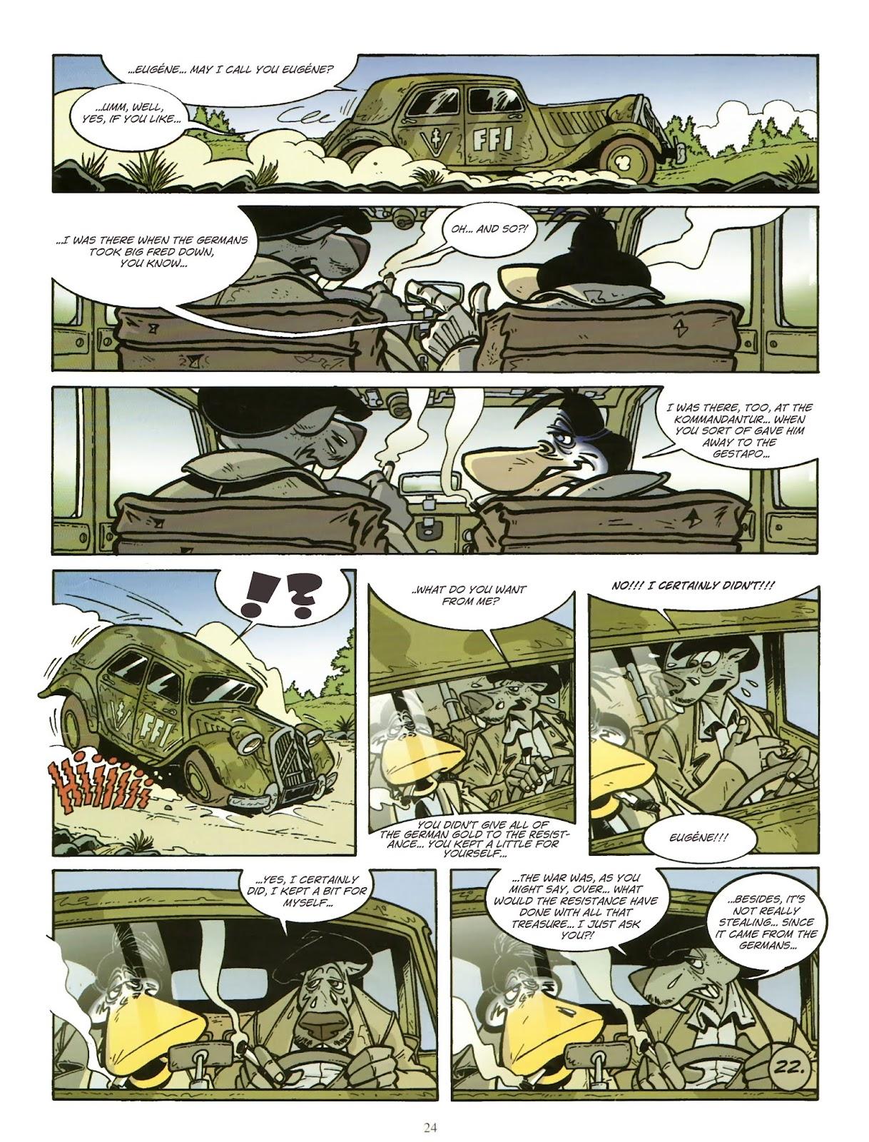 Une enquête de l'inspecteur Canardo issue 11 - Page 25