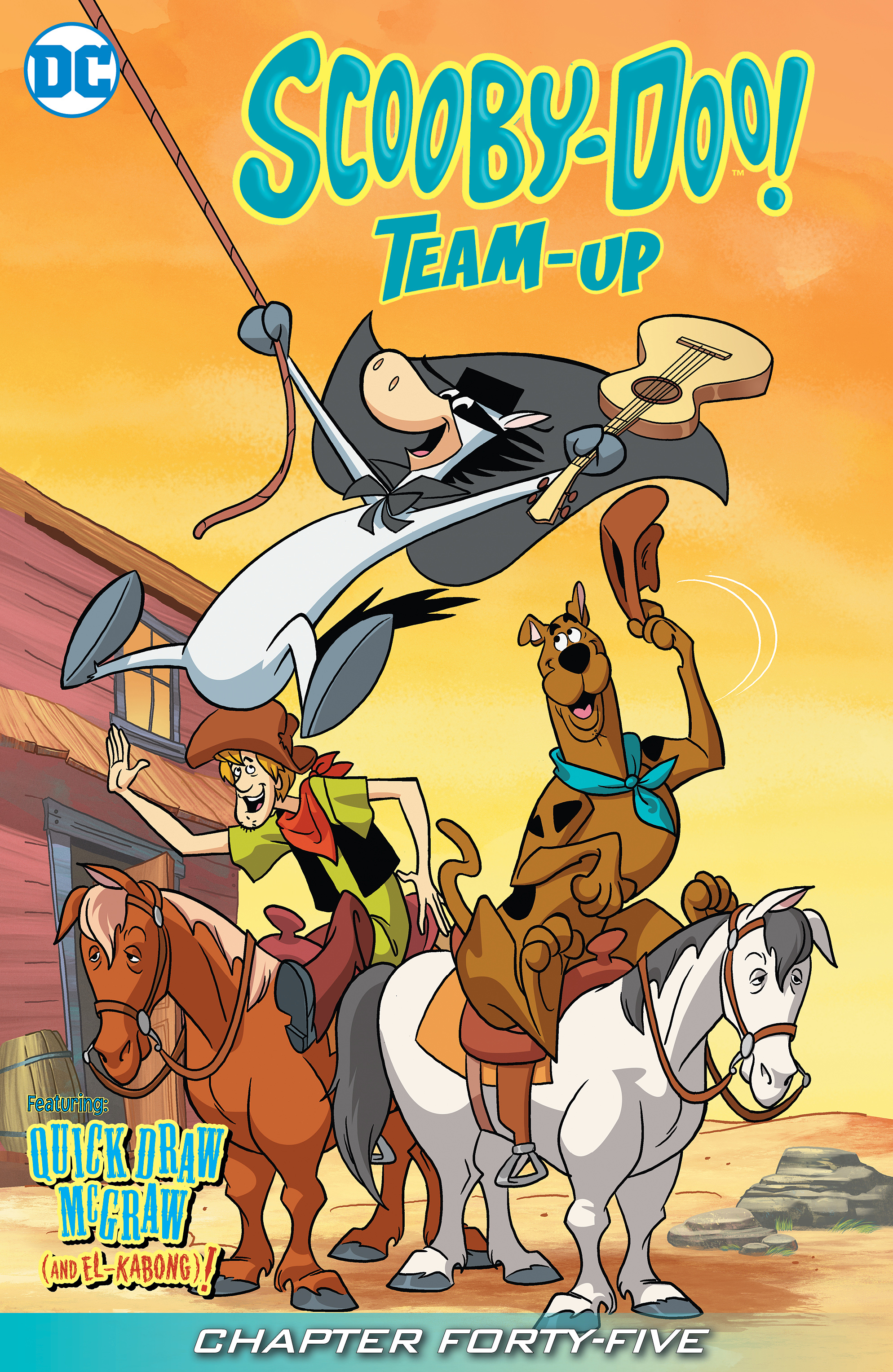 Read online Scooby-Doo! Team-Up comic -  Issue #45 - 2