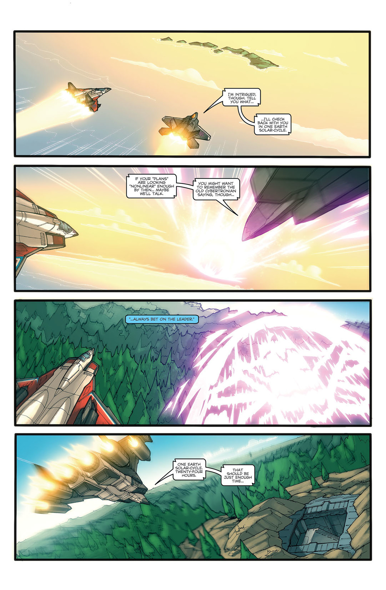 Read online Transformers Spotlight: Ramjet comic -  Issue # Full - 7
