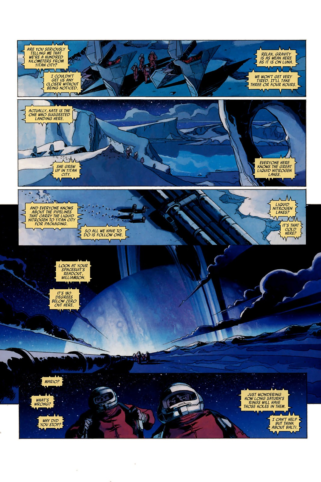 Read online Universal War One: Revelations comic -  Issue #1 - 11