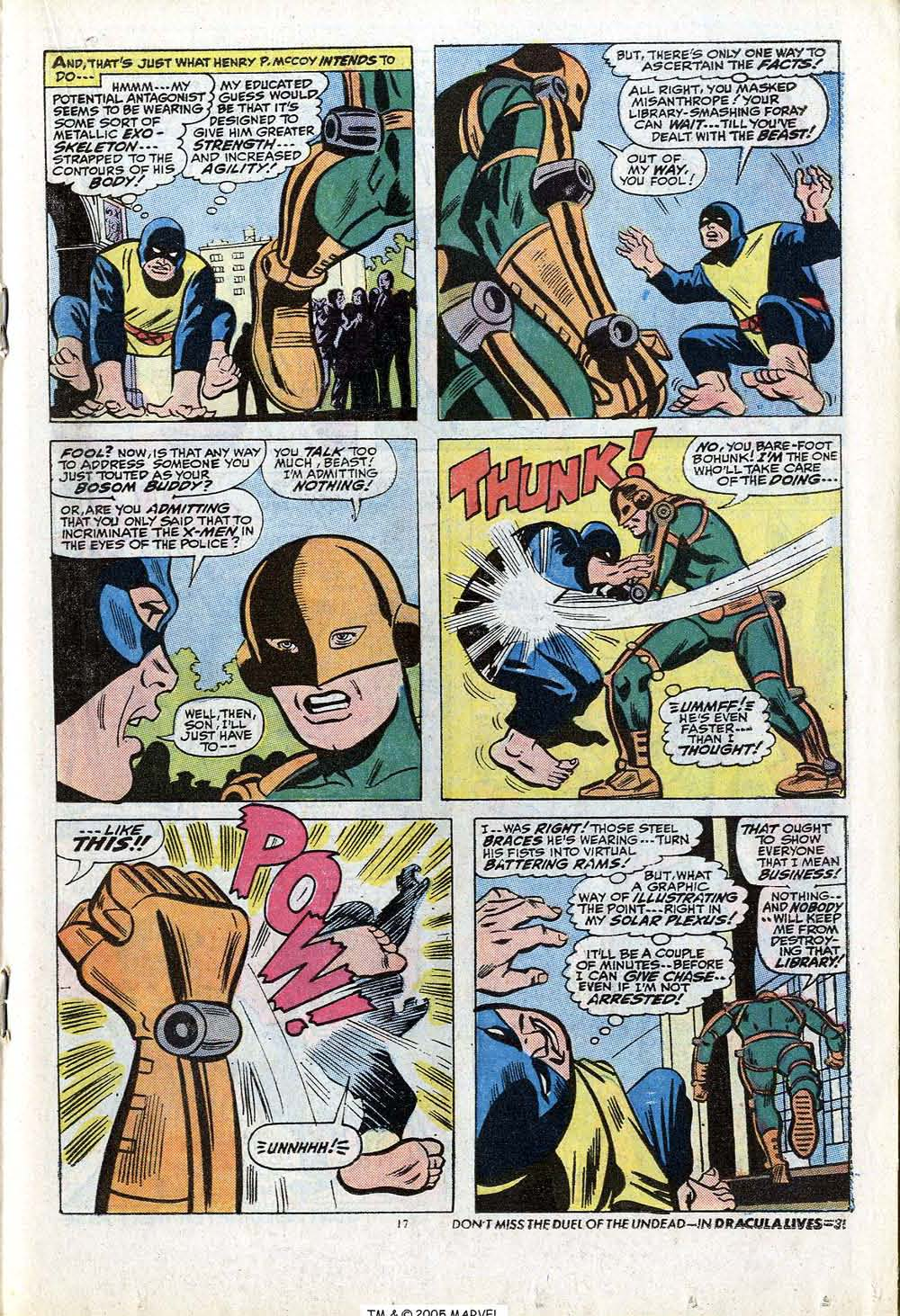 Read online Uncanny X-Men (1963) comic -  Issue #84 - 19
