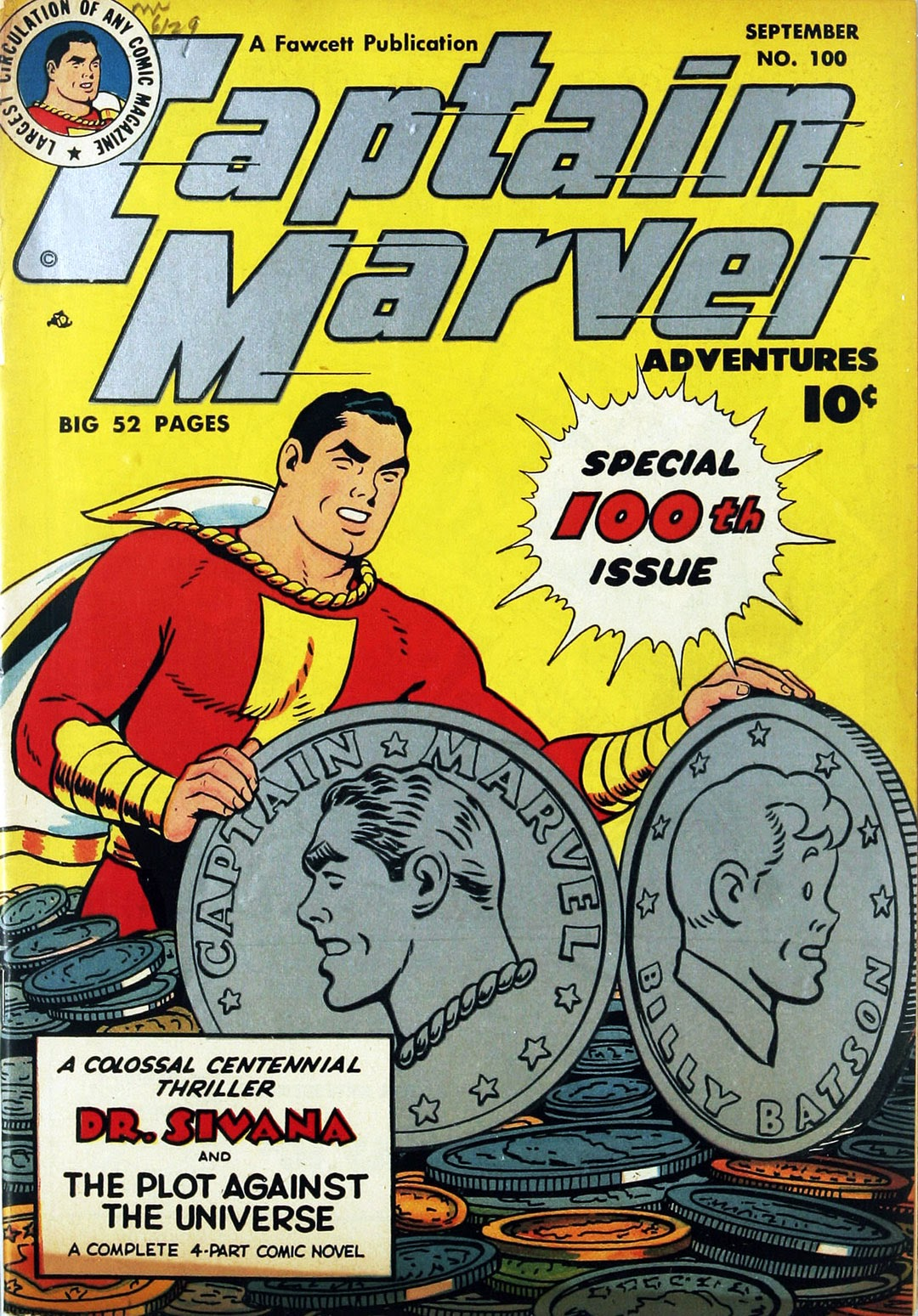 Captain Marvel Adventures issue 100 - Page 1