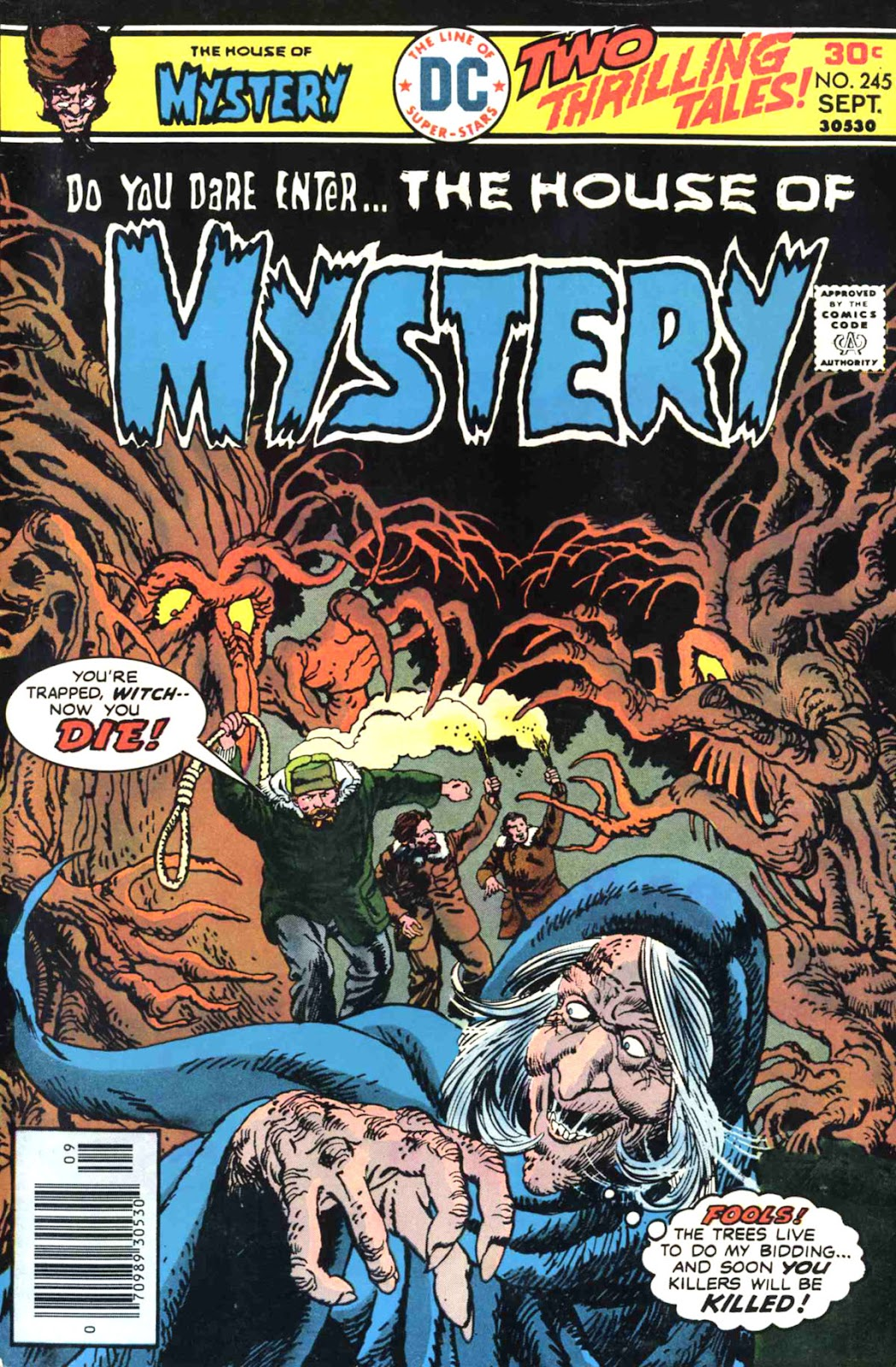 House of Mystery (1951) issue 245 - Page 1
