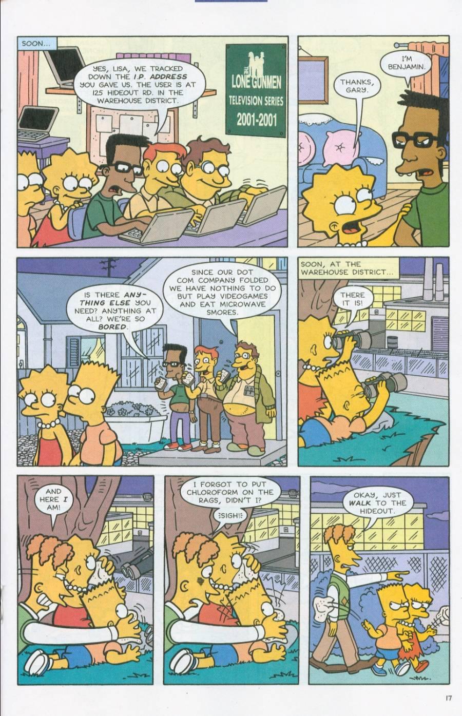 Read online Simpsons Comics comic -  Issue #71 - 18