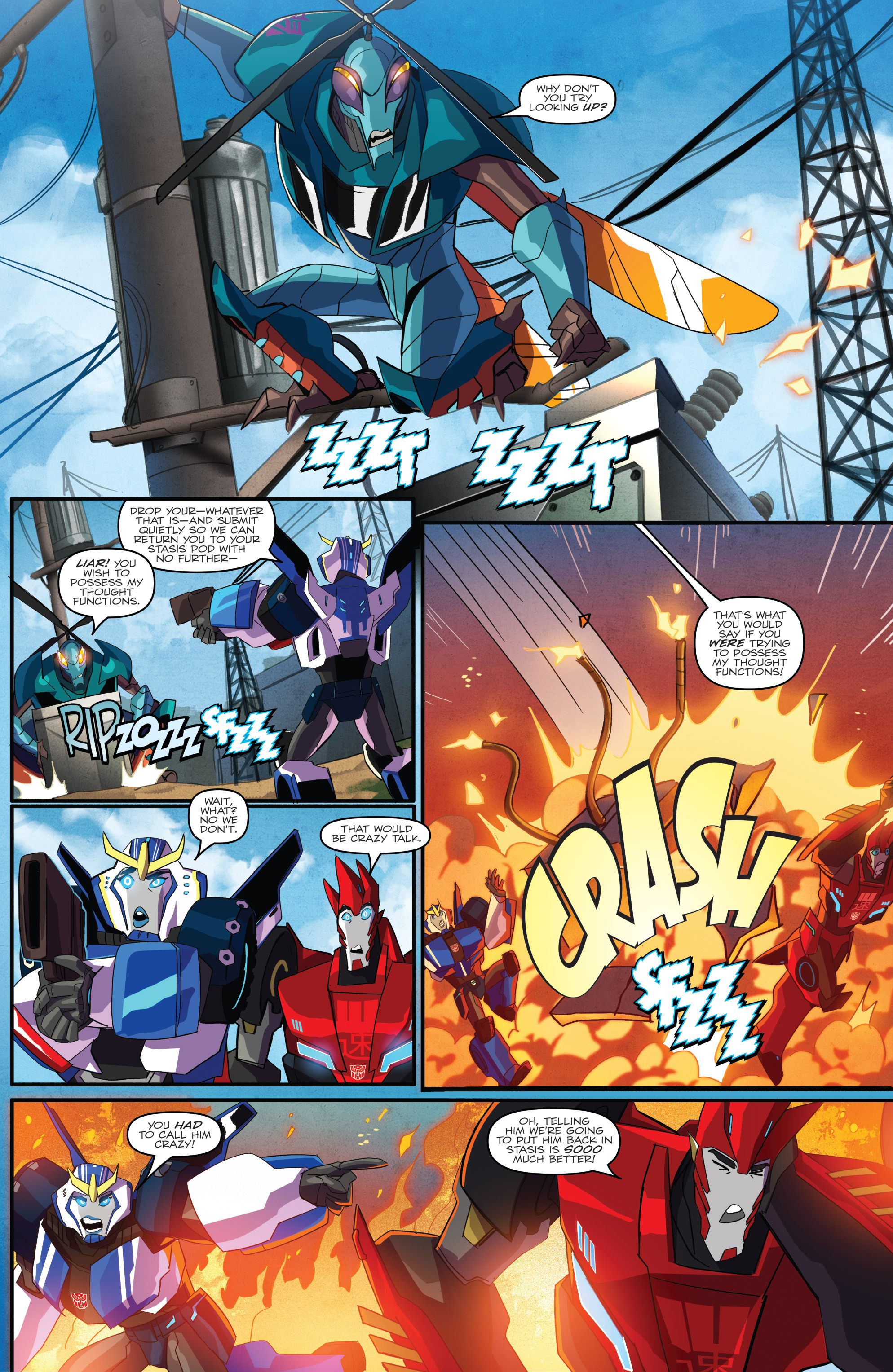 Read online Transformers: Robots In Disguise (2015) comic -  Issue #1 - 11
