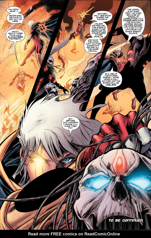 Read online Annihilation: Conquest - Quasar comic -  Issue #1 - 21