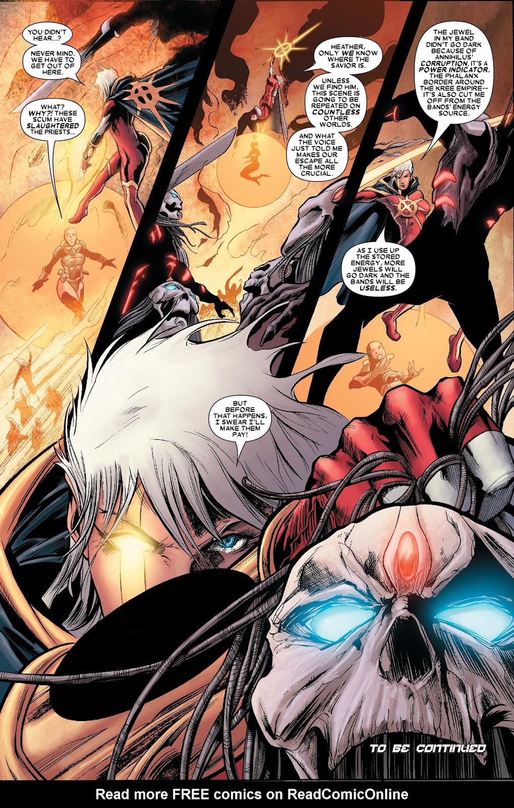 Annihilation: Conquest - Quasar issue 1 - Page 21