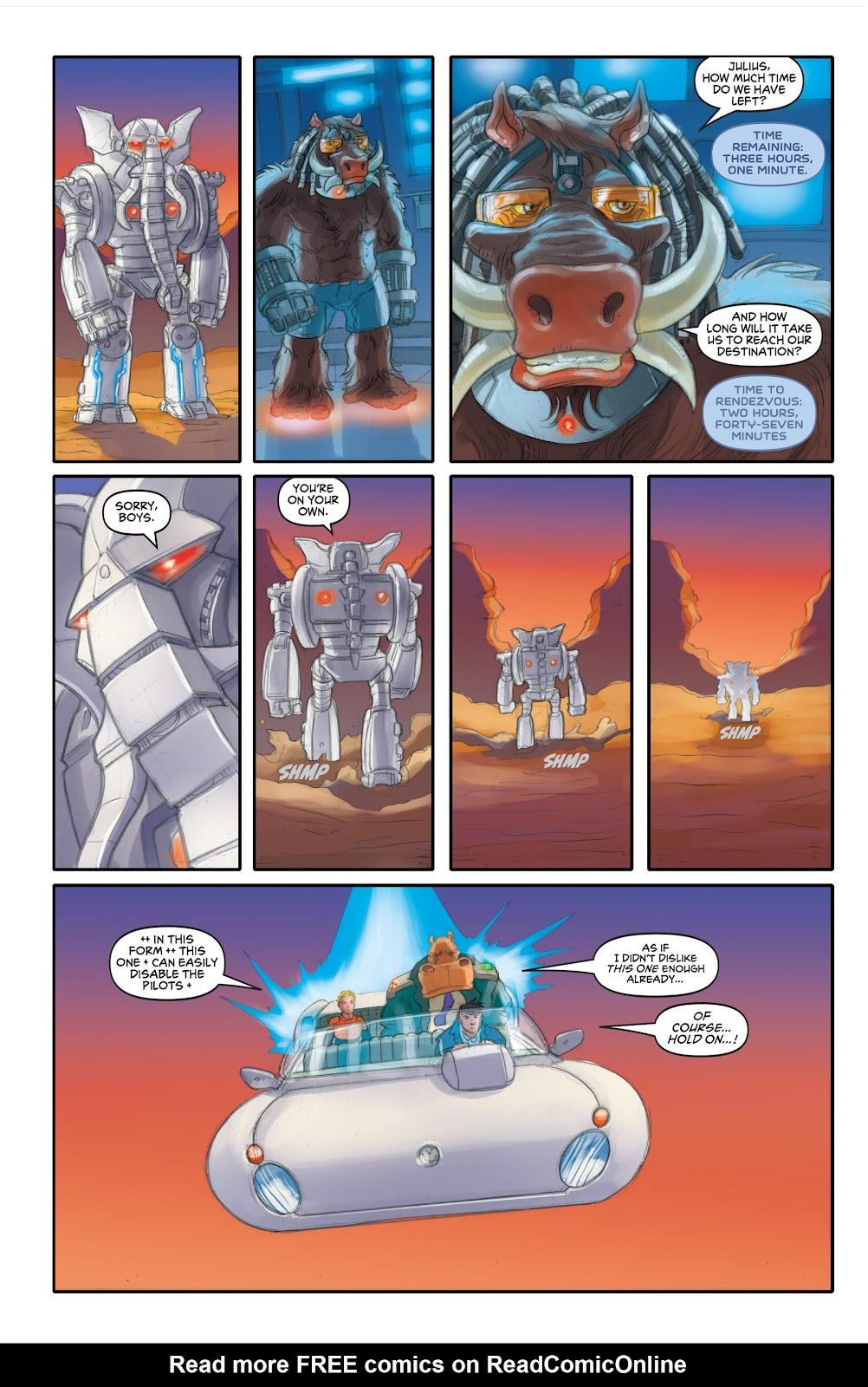 Read online Elephantmen 2261 Season Two: The Pentalion Job comic -  Issue # TPB - 85