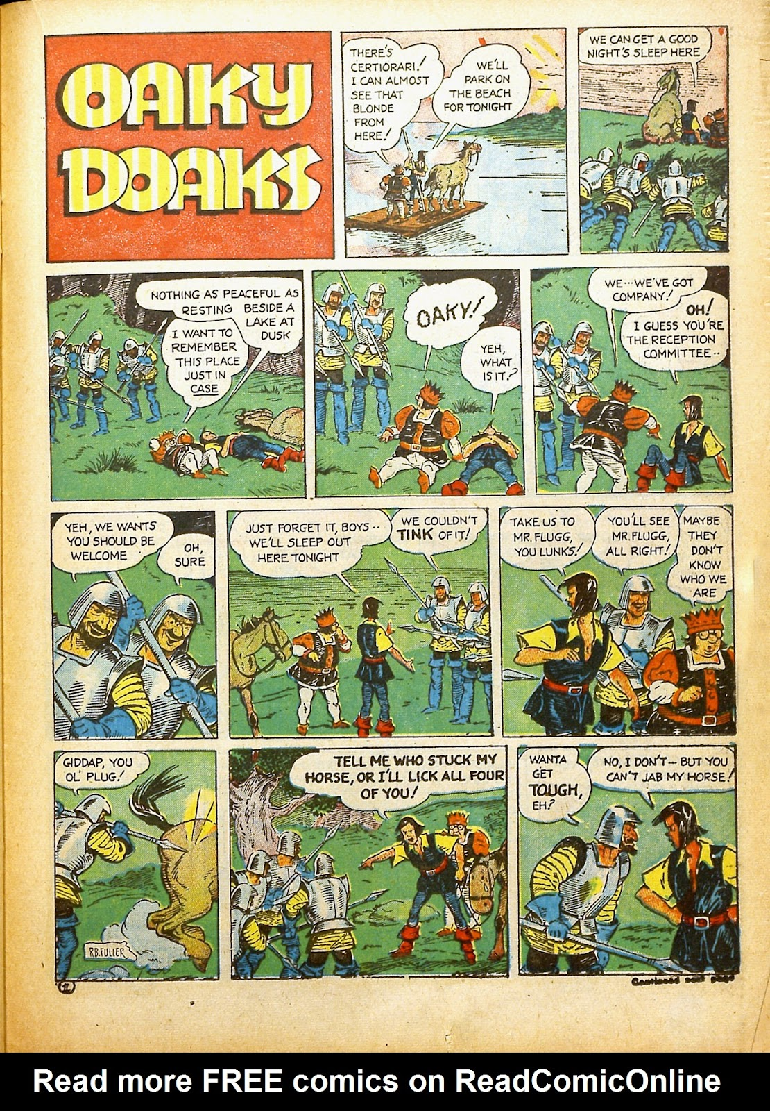 Read online Famous Funnies comic -  Issue #91 - 42