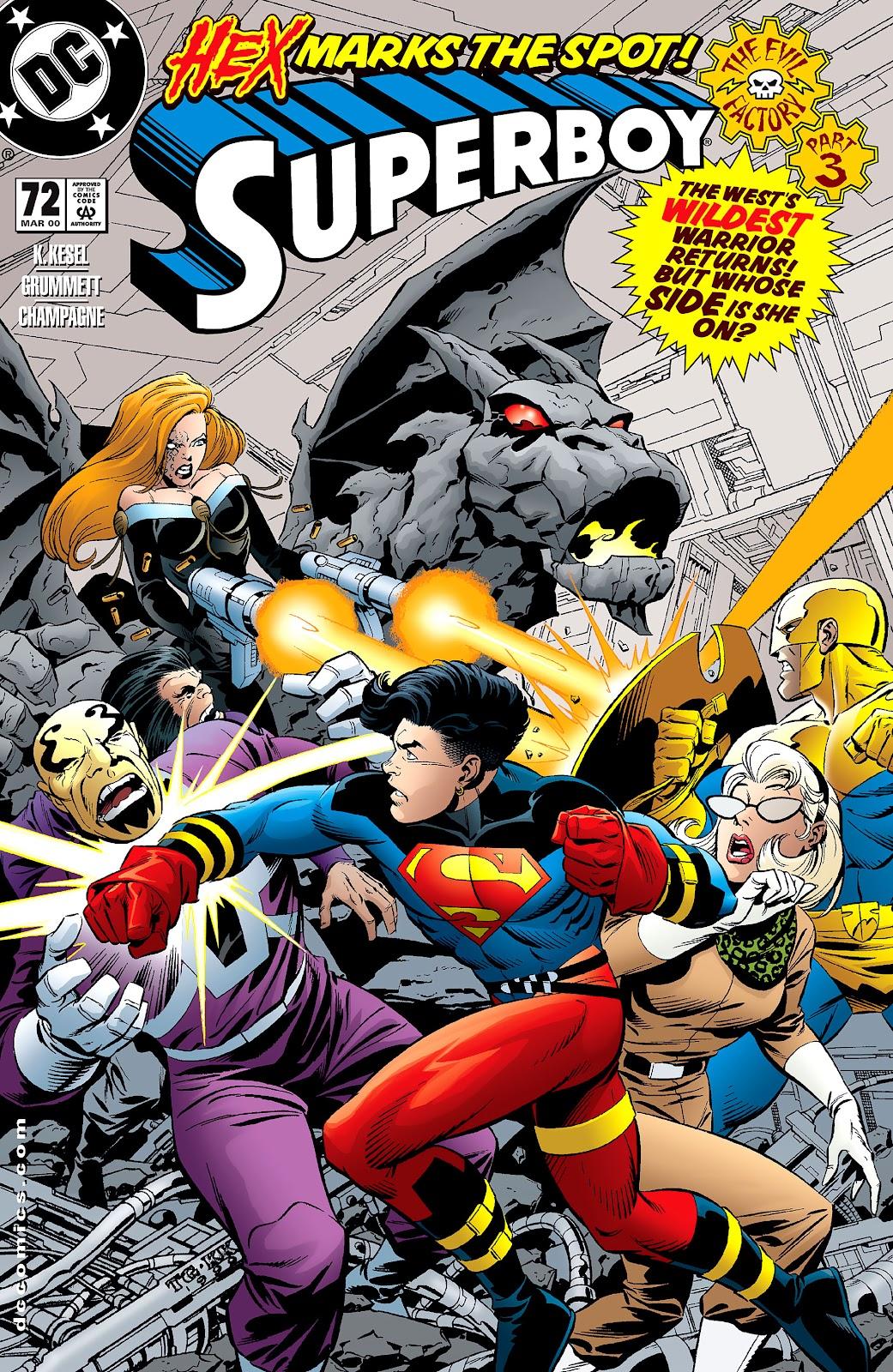 Superboy (1994) 72 Page 1