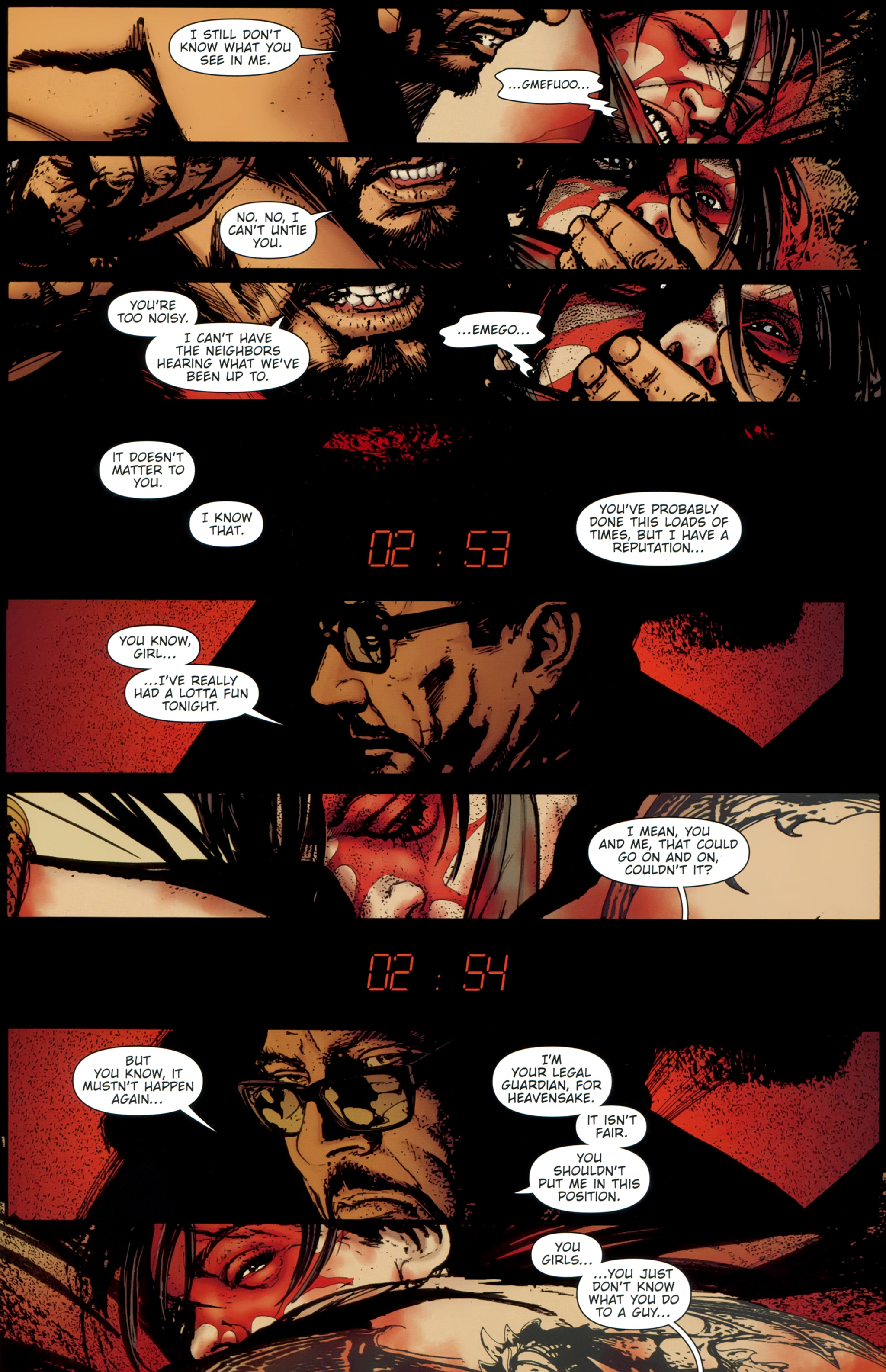 Read online The Girl With the Dragon Tattoo comic -  Issue # TPB 1 - 122