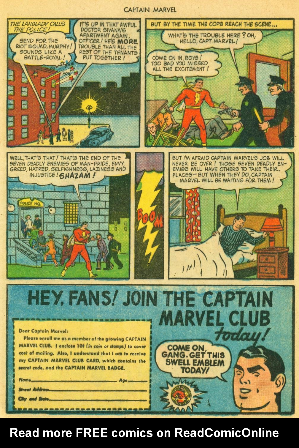Captain Marvel Adventures issue 41 - Page 17