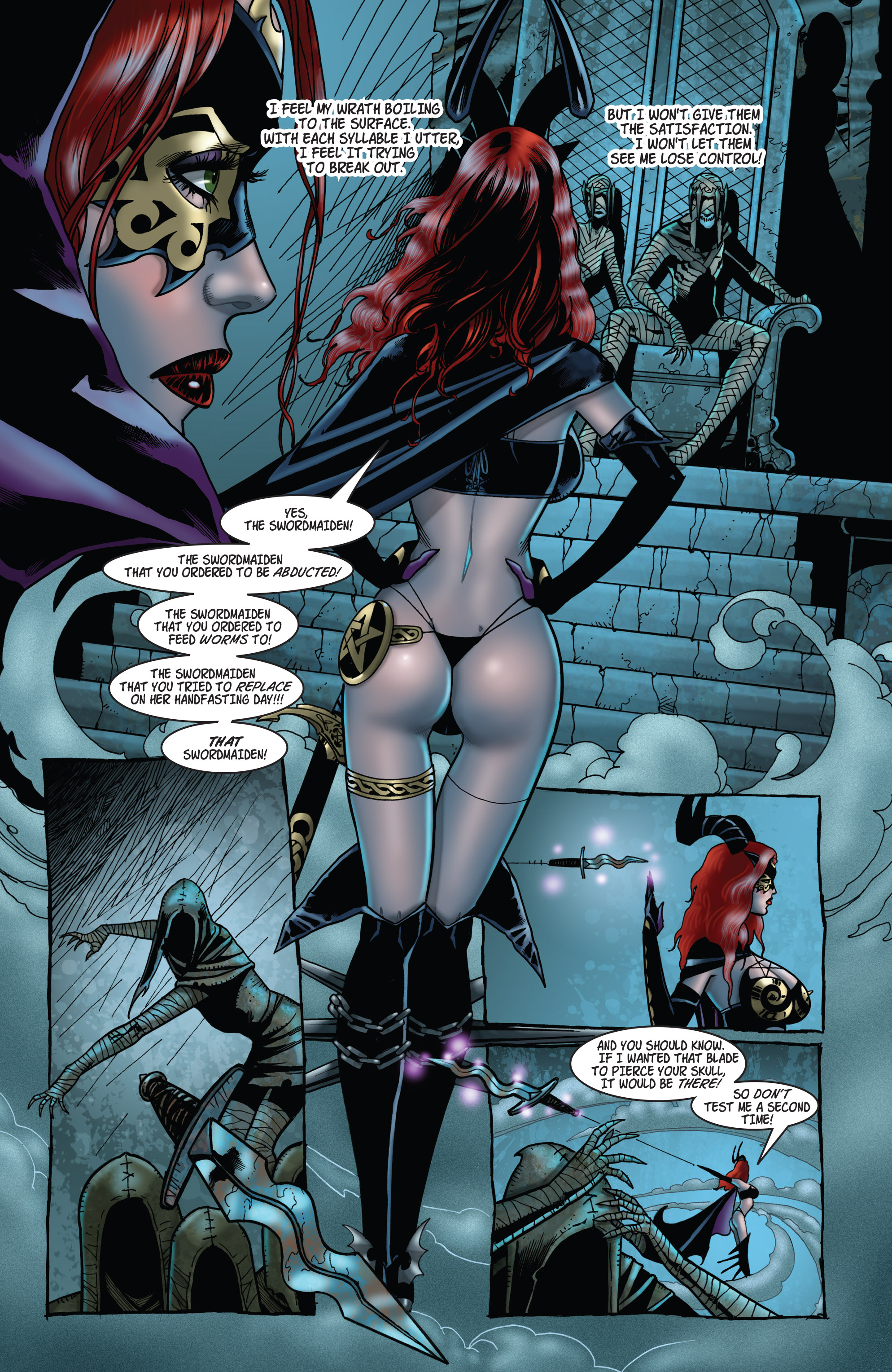 Read online Tarot: Witch of the Black Rose comic -  Issue #103 - 16