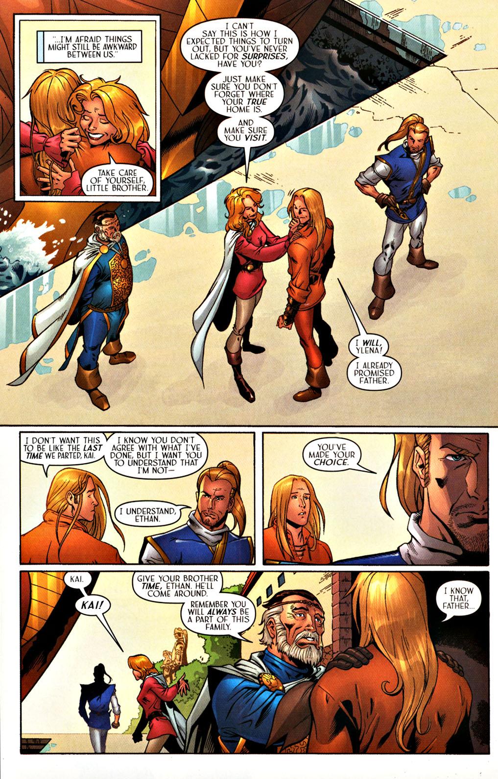 Read online Scion comic -  Issue #27 - 10