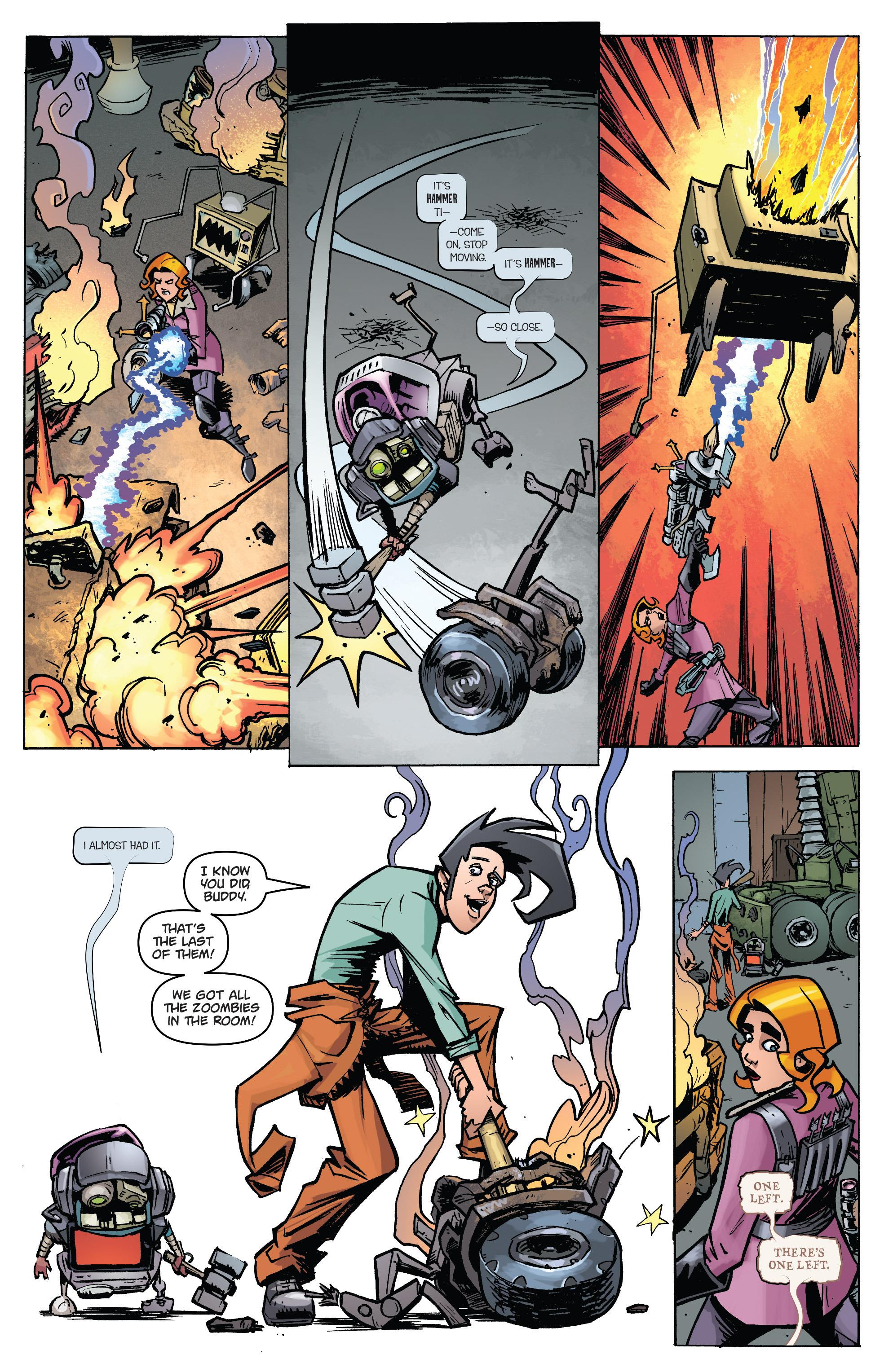 Read online Monster Motors: The Curse of Minivan Helsing comic -  Issue #2 - 10