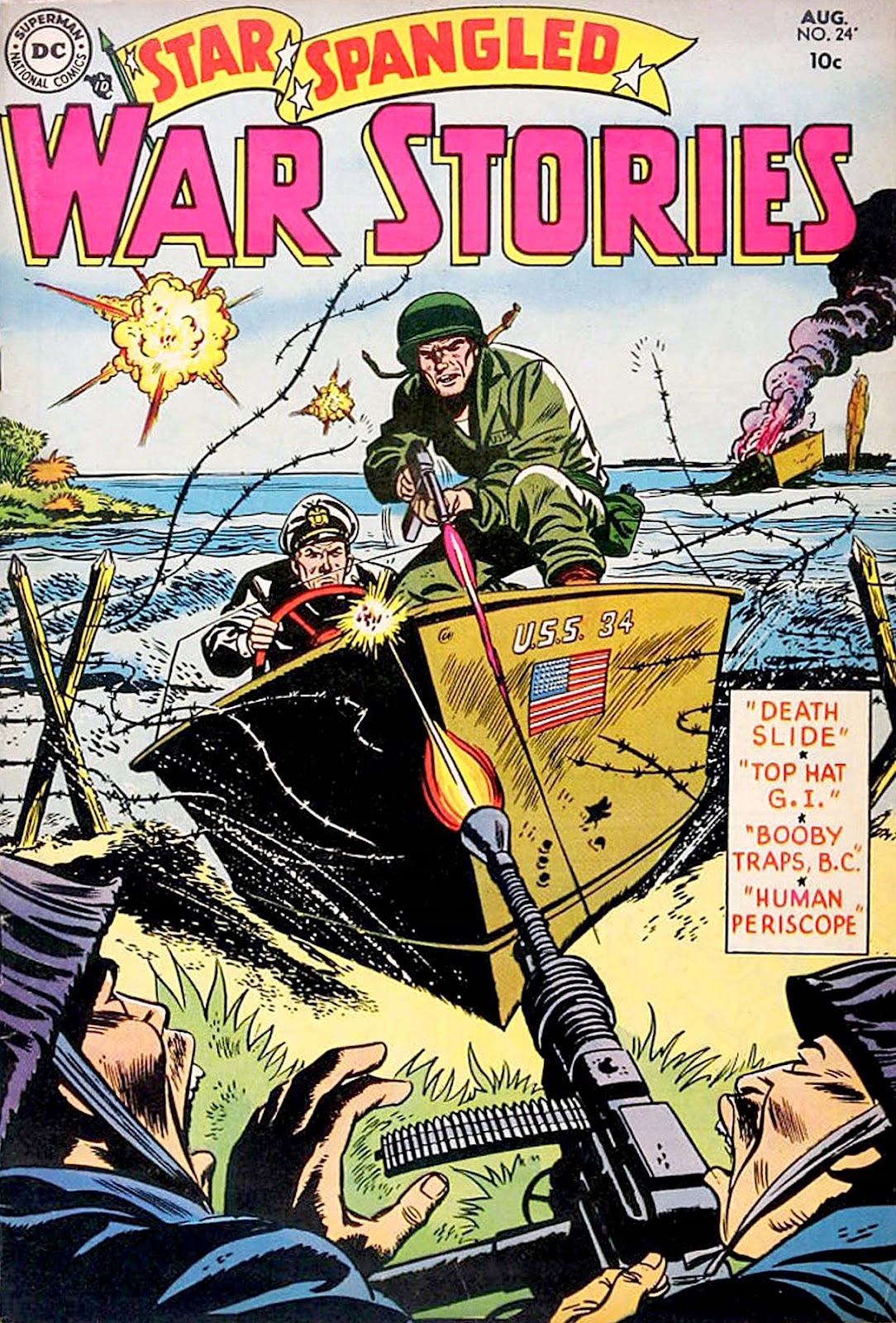 Star Spangled War Stories (1952) issue 24 - Page 1