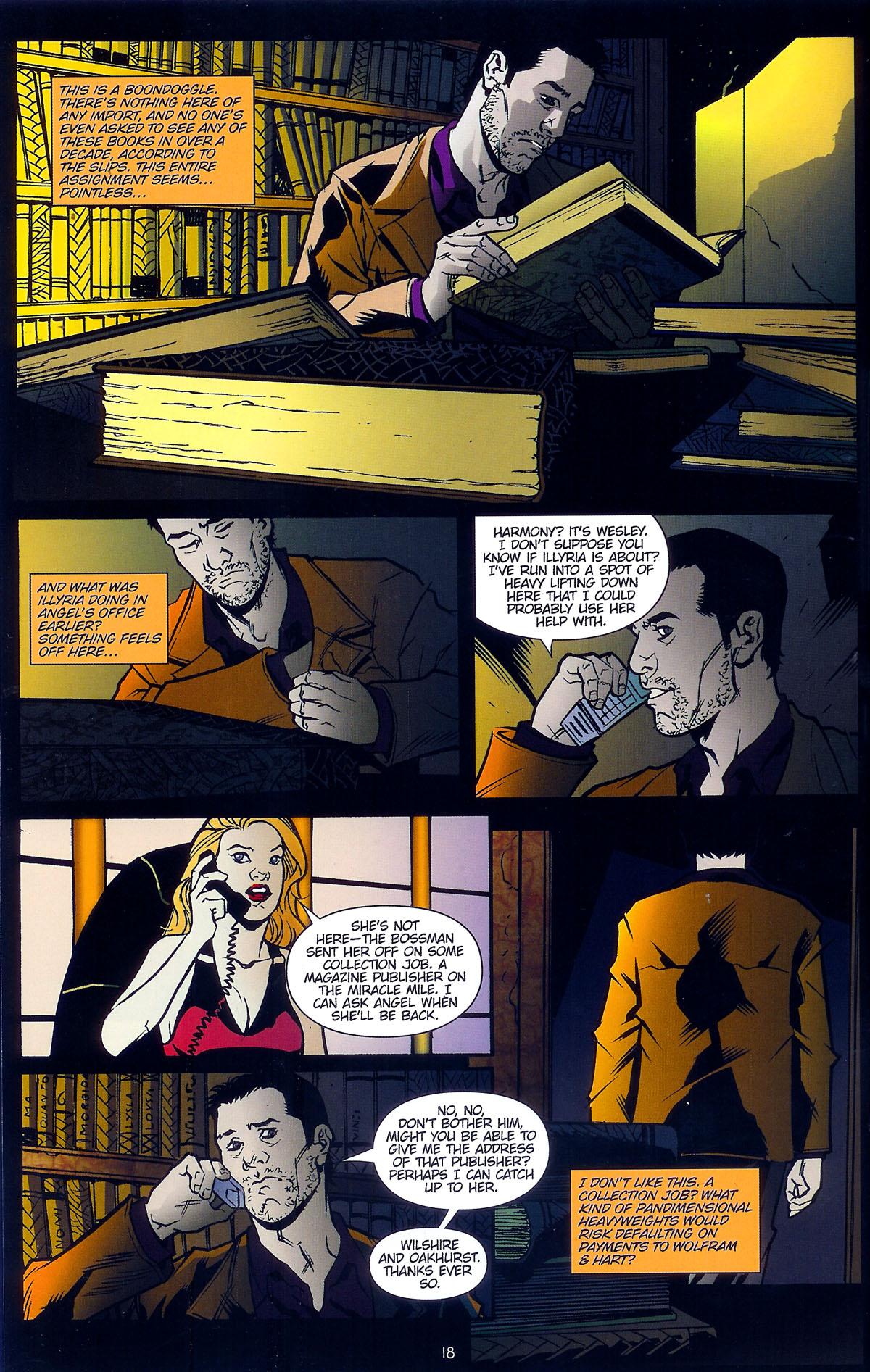 Read online Angel: Masks comic -  Issue # Full - 20