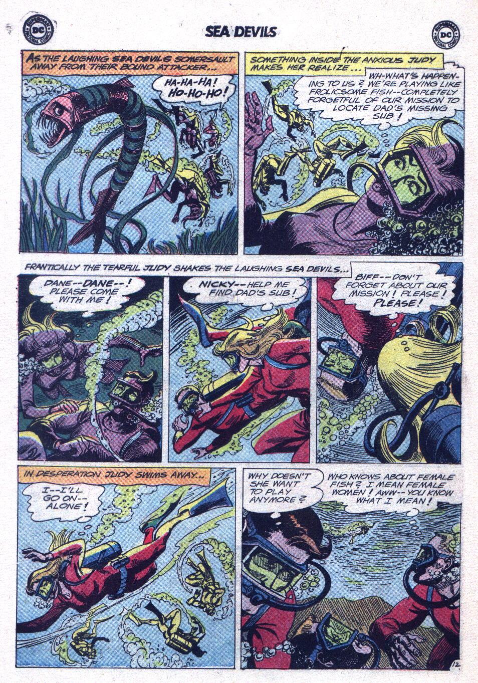 Read online Sea Devils comic -  Issue #15 - 16