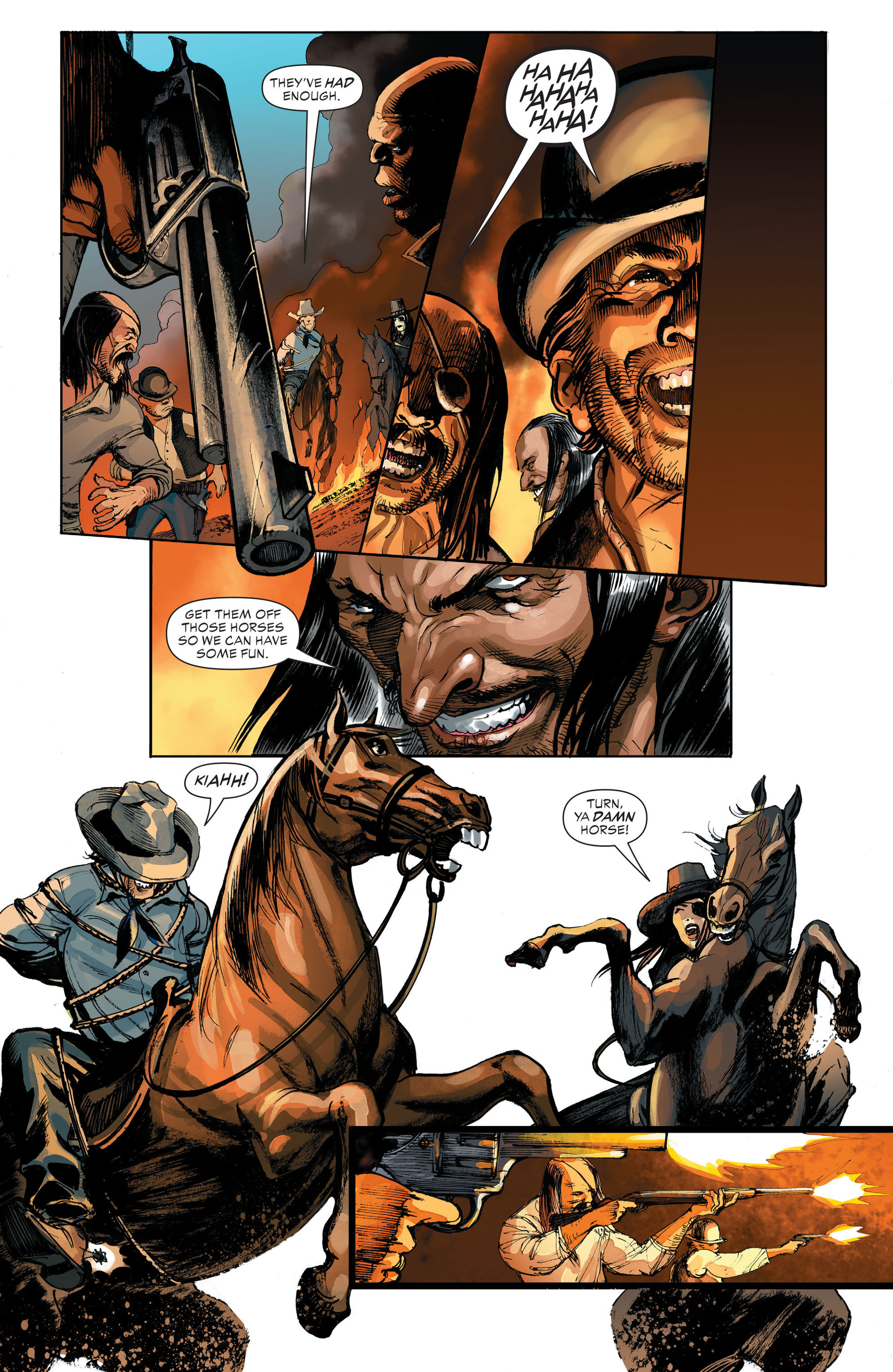 Read online All-Star Western (2011) comic -  Issue #32 - 22