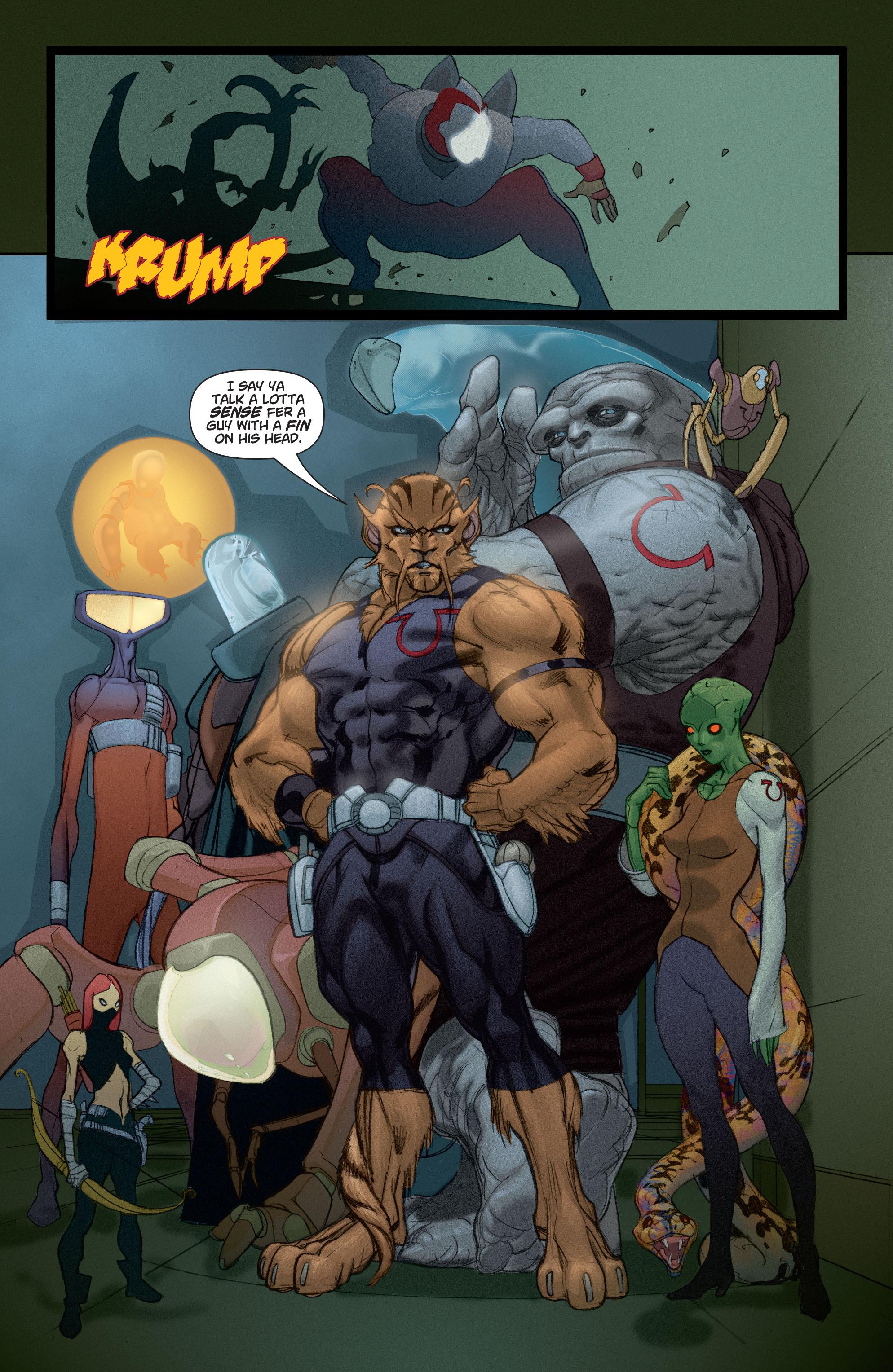 Read online Adam Strange (2004) comic -  Issue #4 - 11