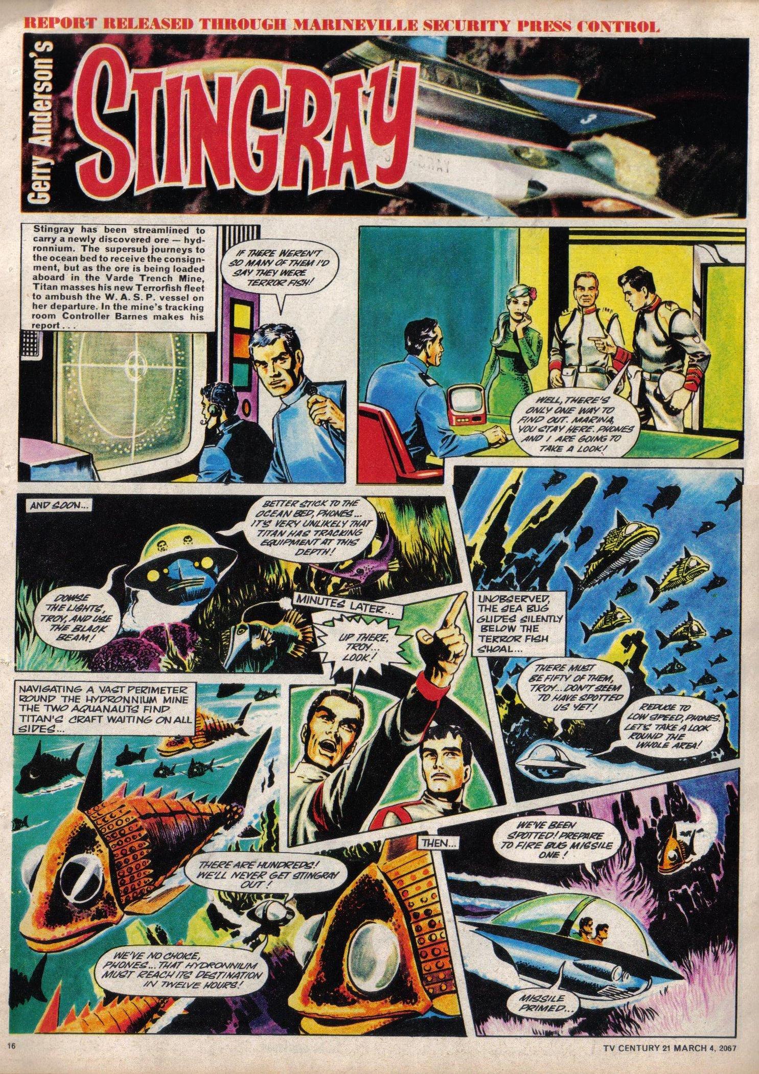 Read online TV Century 21 (TV 21) comic -  Issue #111 - 15