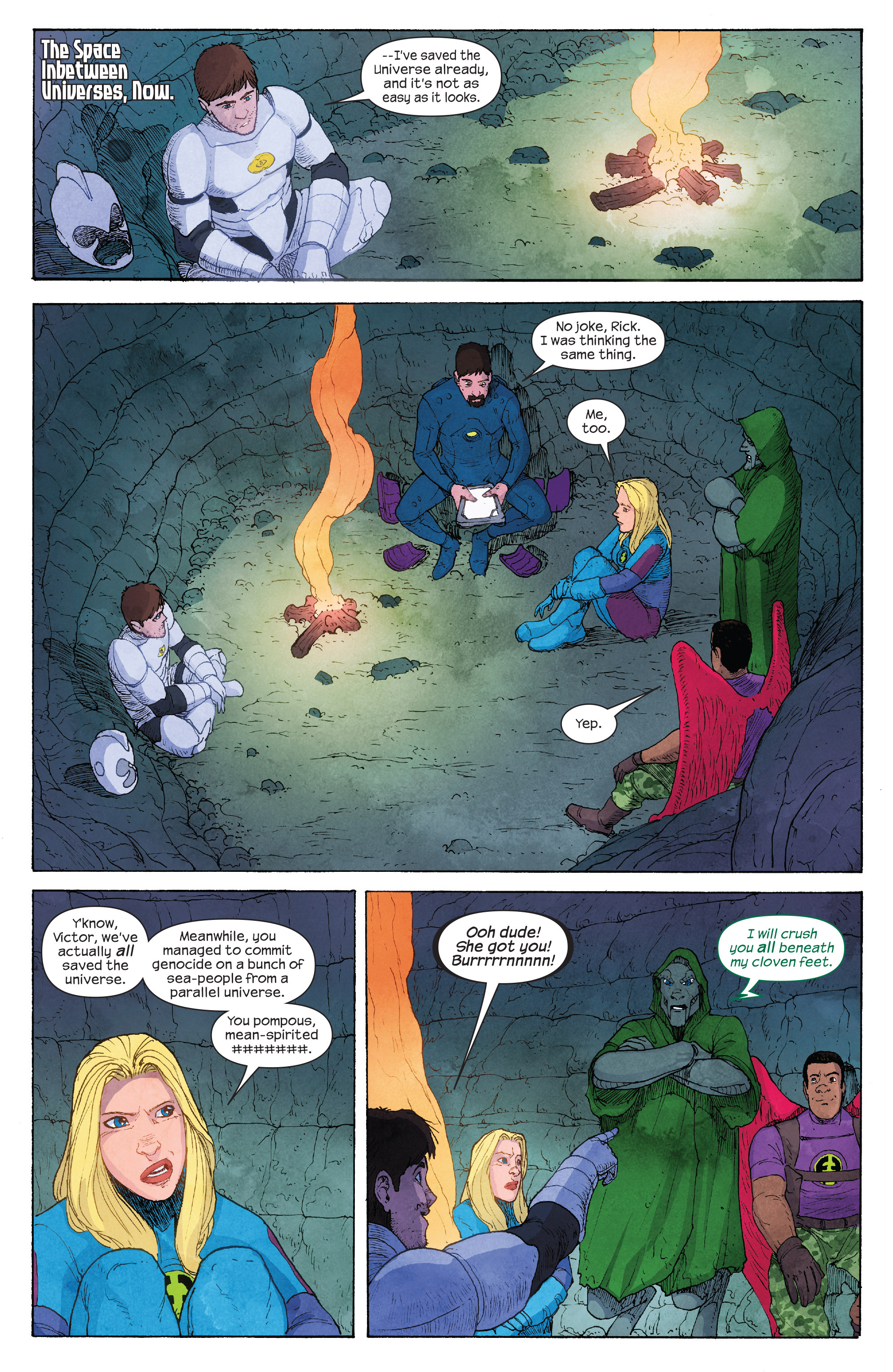 Read online Ultimate FF comic -  Issue #4 - 5