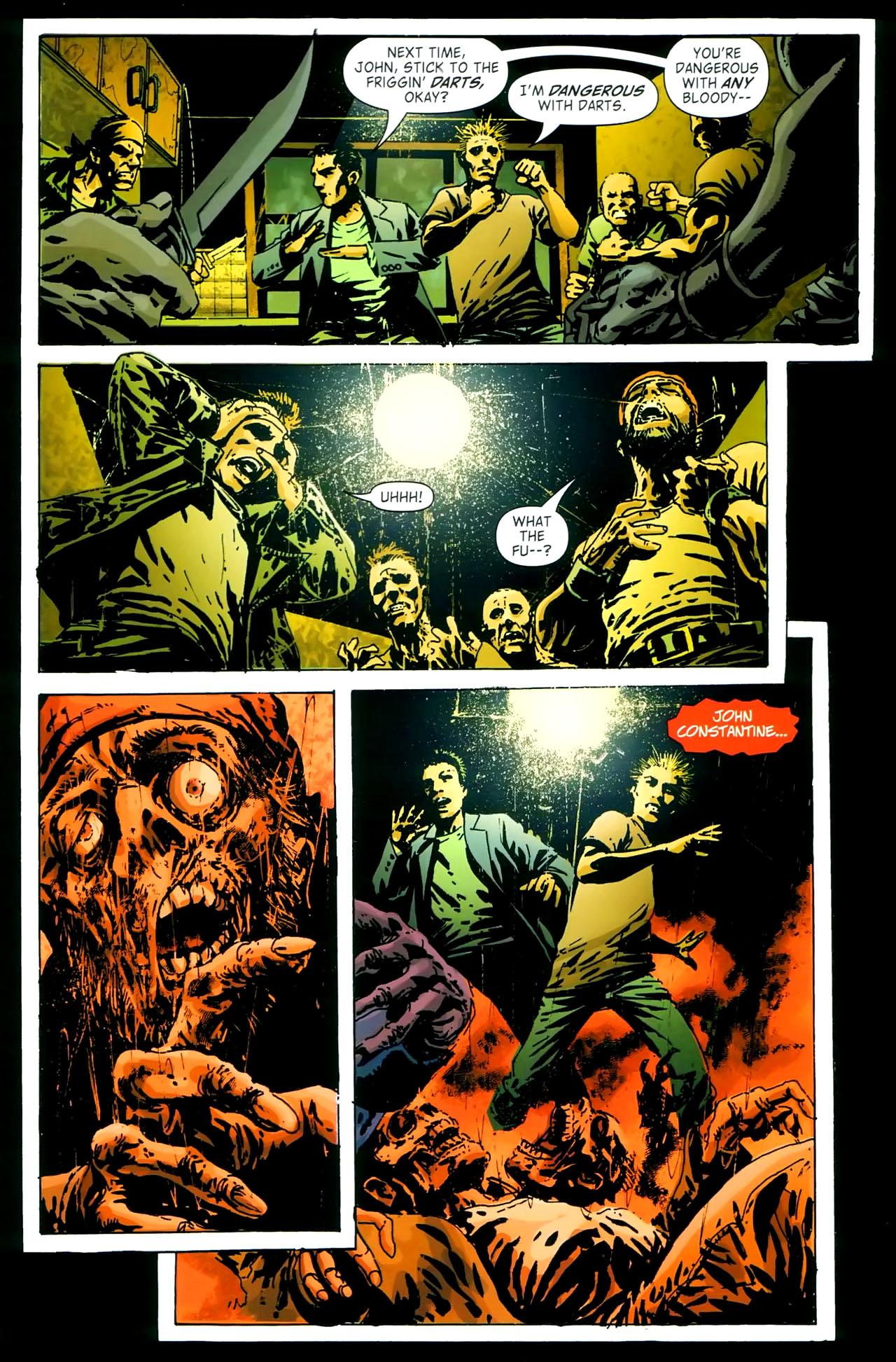 Read online John Constantine Hellblazer: All His Engines comic -  Issue # Full - 23