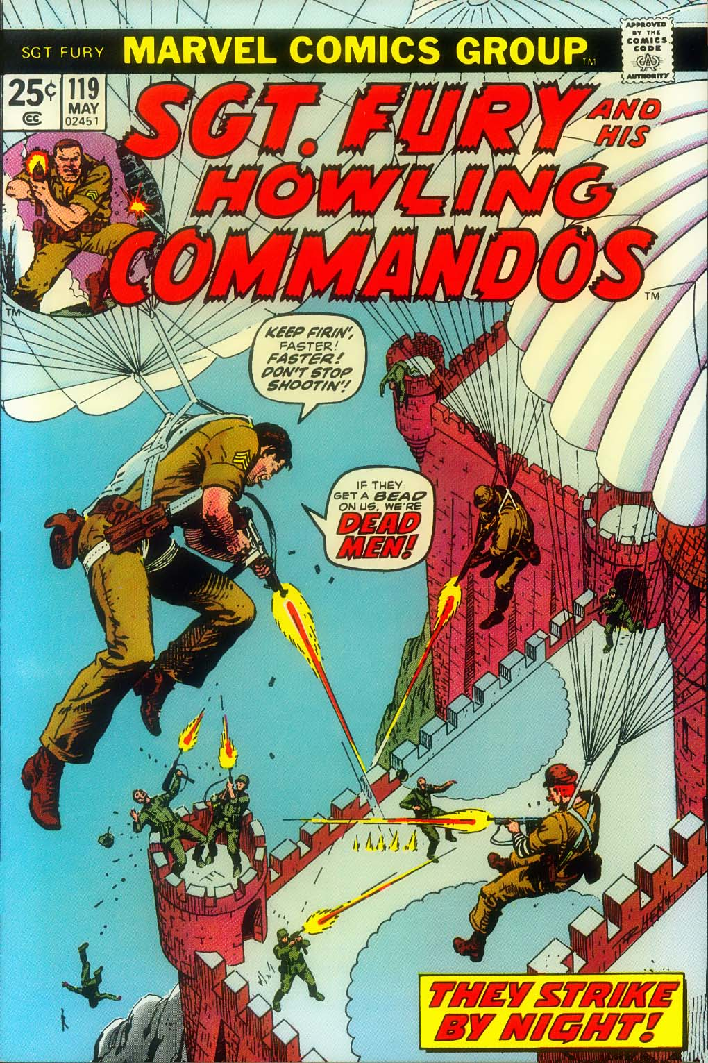 Read online Sgt. Fury comic -  Issue #119 - 1