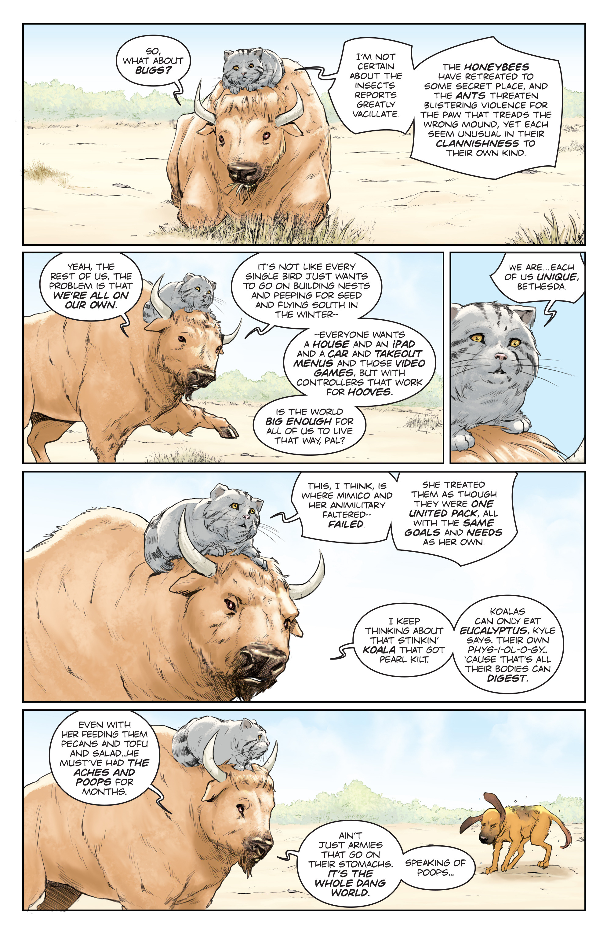 Read online Animosity comic -  Issue #5 - 6
