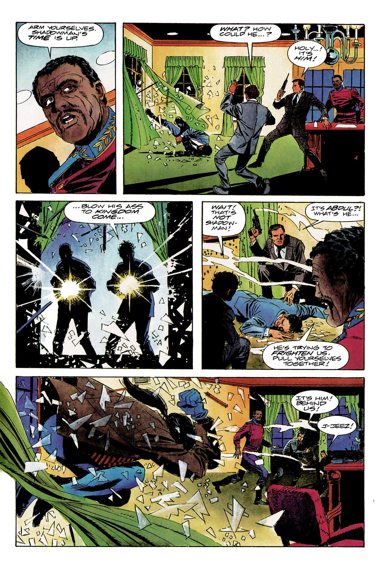 Read online Shadowman (1992) comic -  Issue #9 - 17