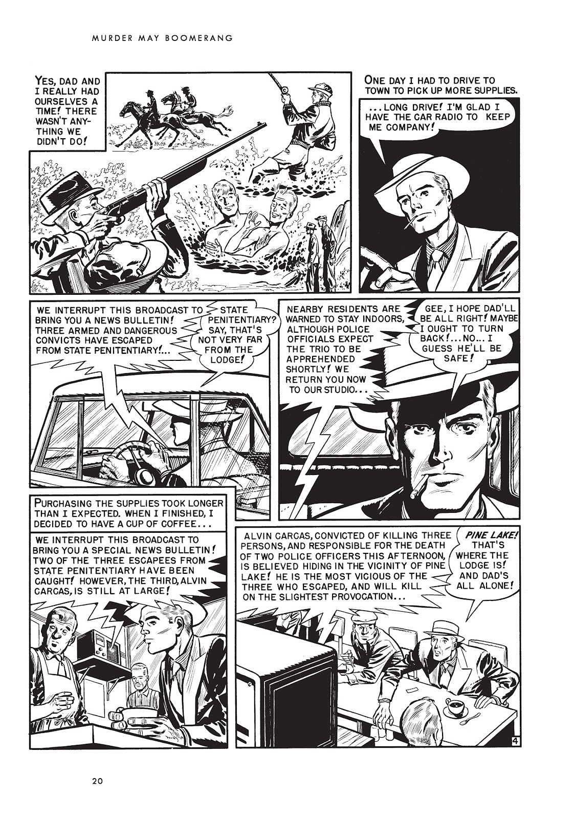 Read online Voodoo Vengeance and Other Stories comic -  Issue # TPB (Part 1) - 37