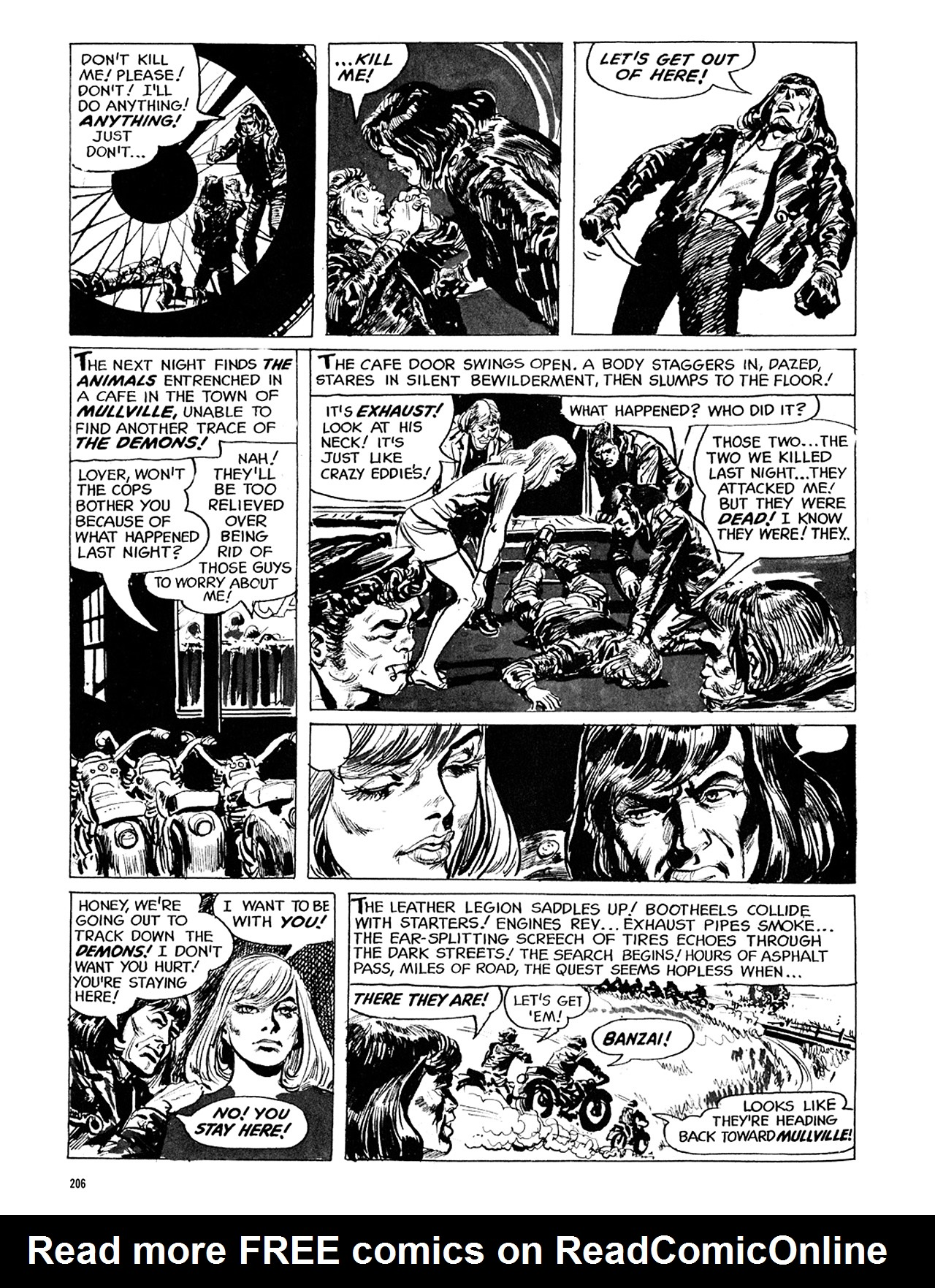 Read online Eerie Archives comic -  Issue # TPB 5 - 207