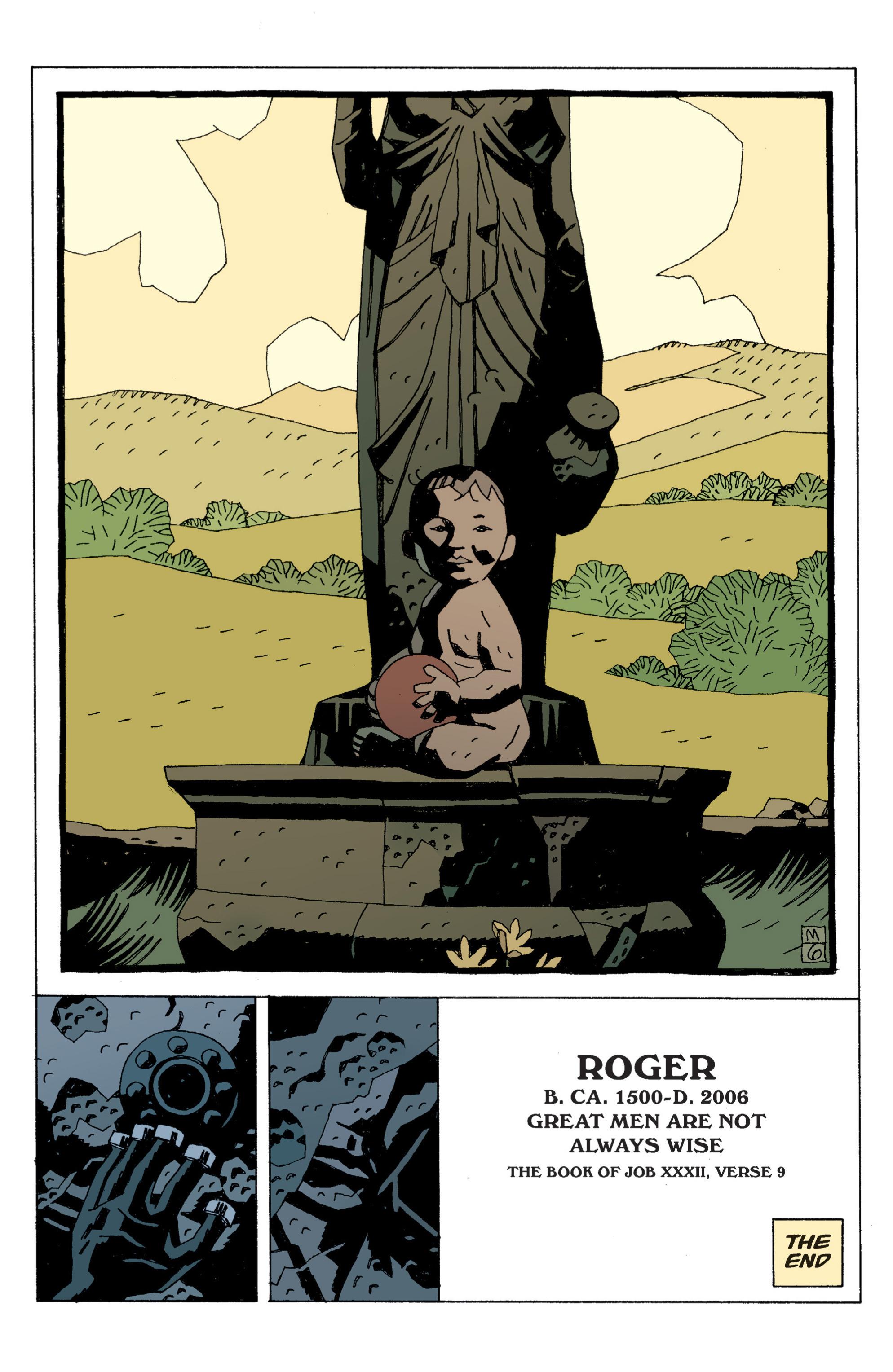 Read online B.P.R.D. (2003) comic -  Issue # TPB 6 - 136