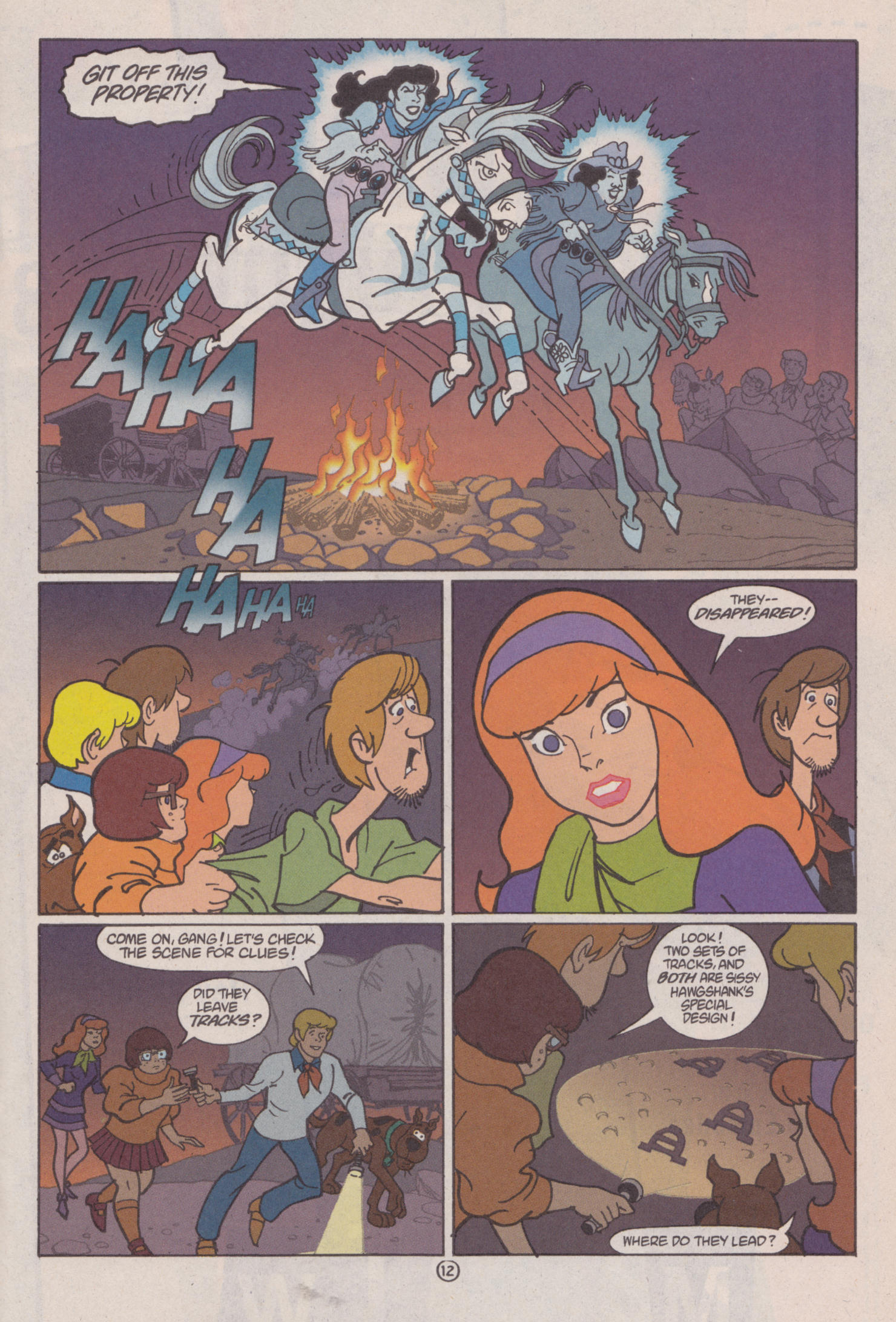 Read online Scooby-Doo (1997) comic -  Issue #6 - 13