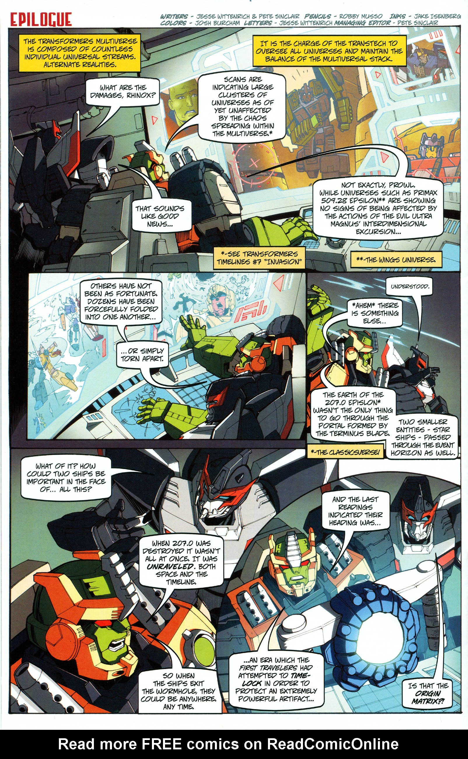 Read online Transformers: Collectors' Club comic -  Issue #48 - 14