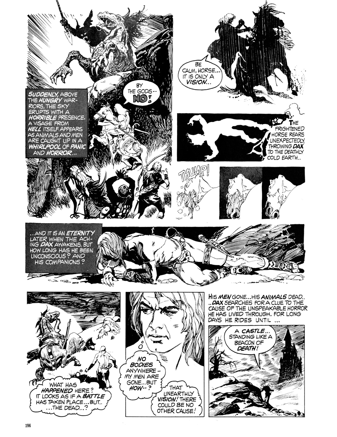 Read online Eerie Archives comic -  Issue # TPB 9 - 197