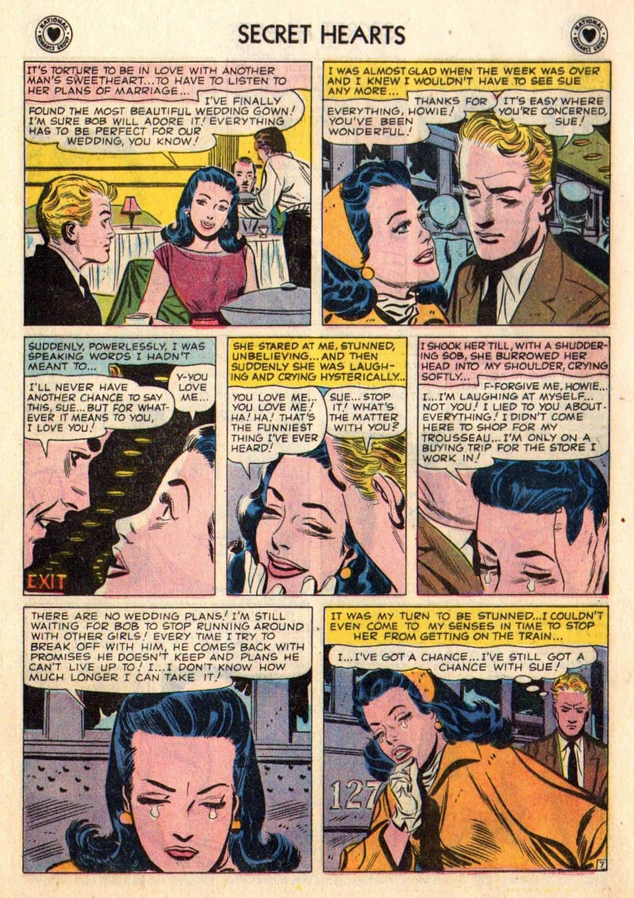 Read online Secret Hearts comic -  Issue #48 - 16
