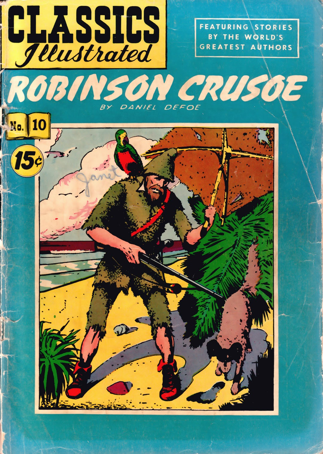 Classics Illustrated 10 Page 1