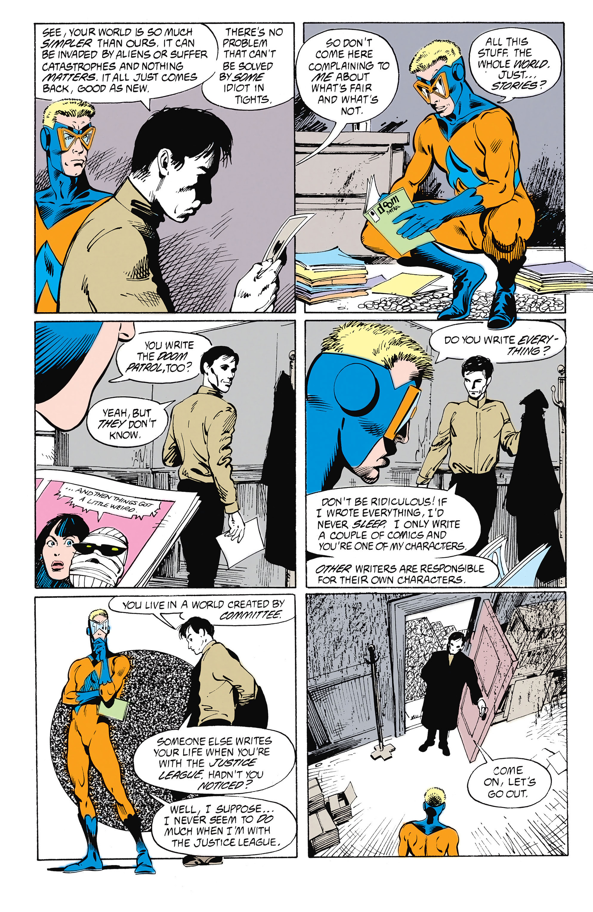 Read online Animal Man (1988) comic -  Issue #26 - 9