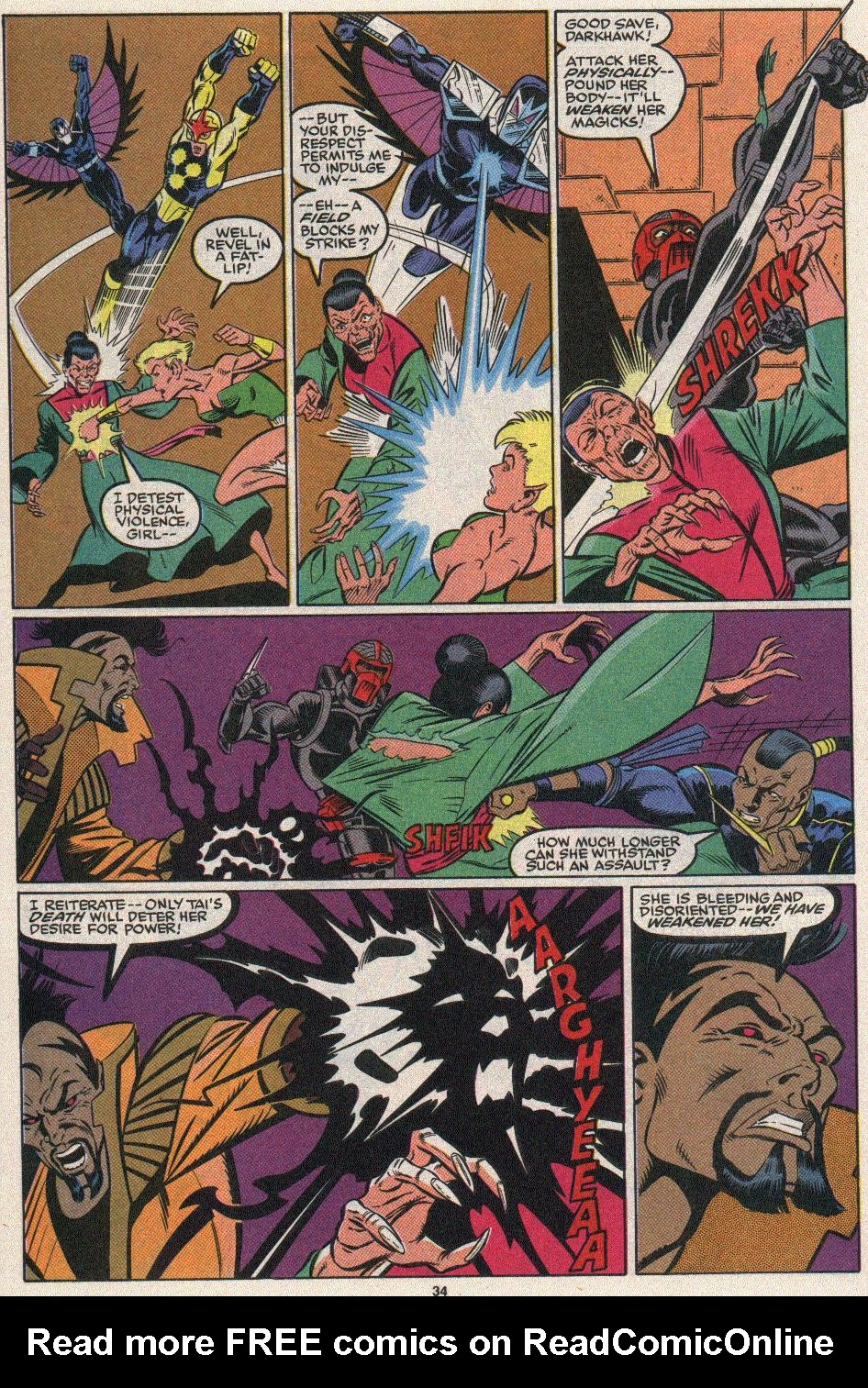 The New Warriors Issue #25 #29 - English 30