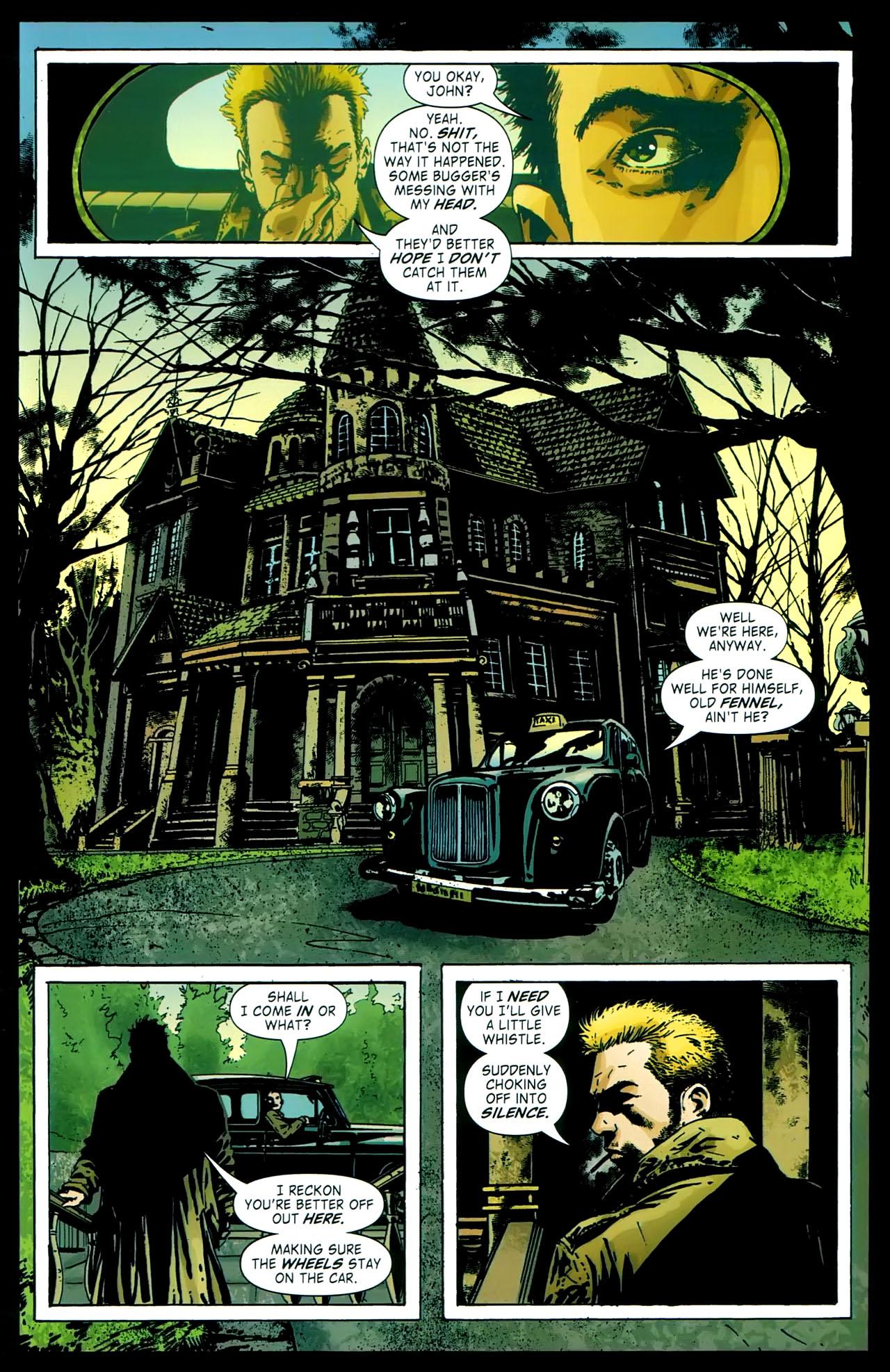 Read online John Constantine Hellblazer: All His Engines comic -  Issue # Full - 25