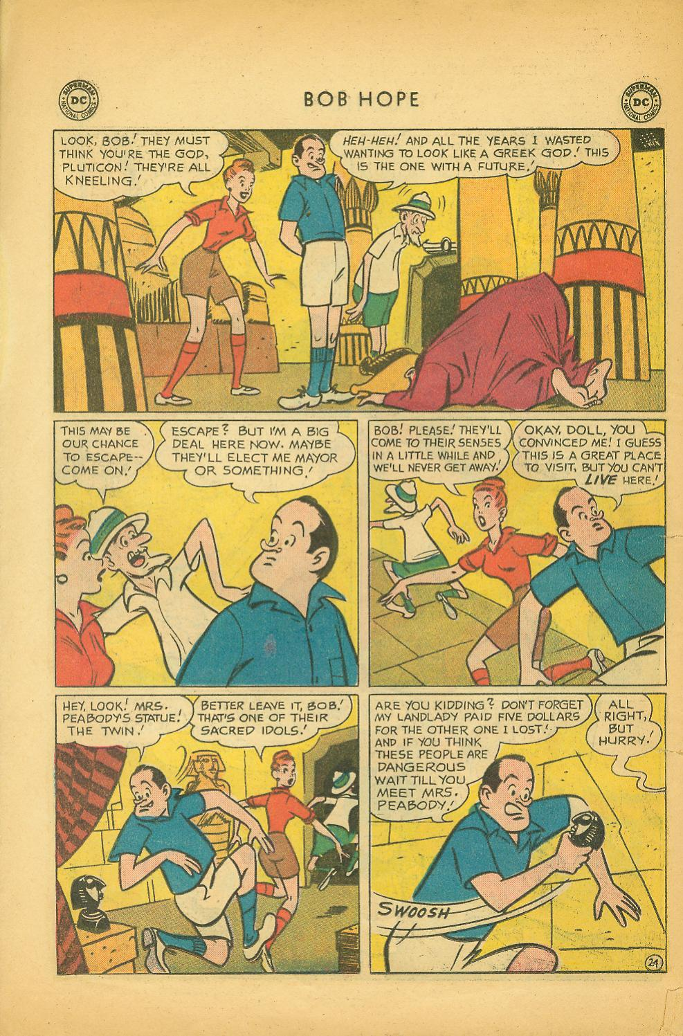 The Adventures of Bob Hope issue 64 - Page 30